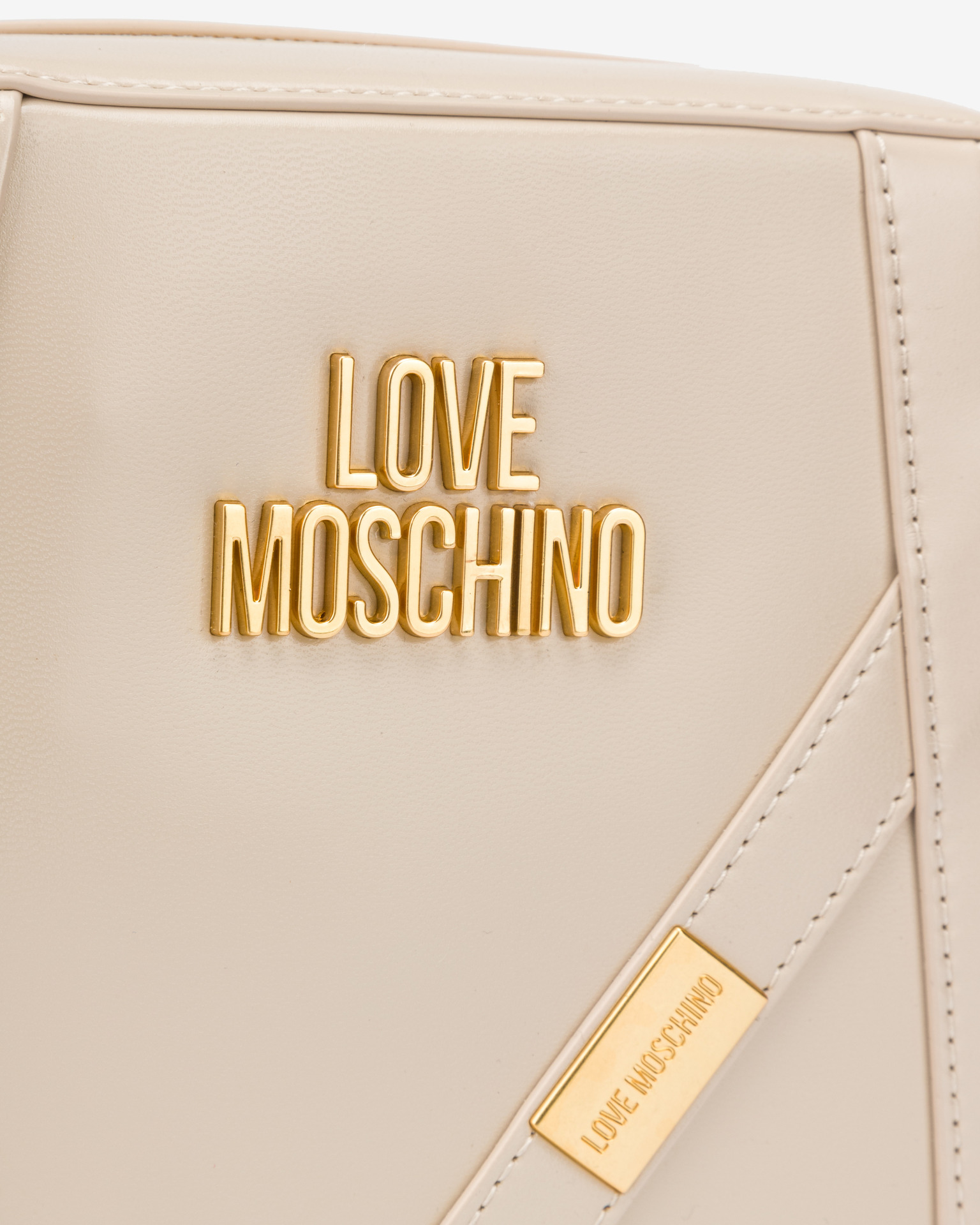 Love Moschino beżowy crossbody torebka