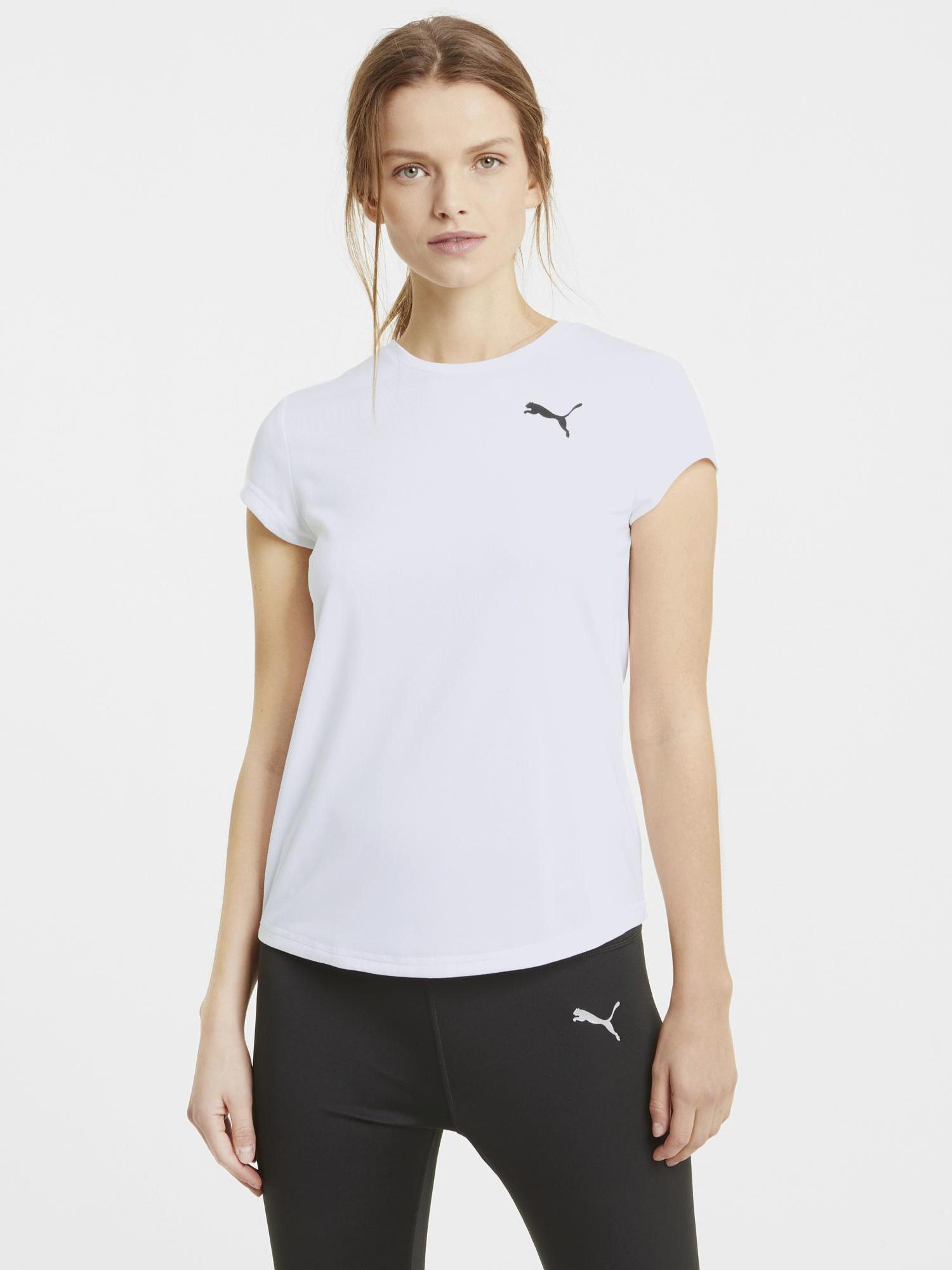 Puma biały damska koszulka Active