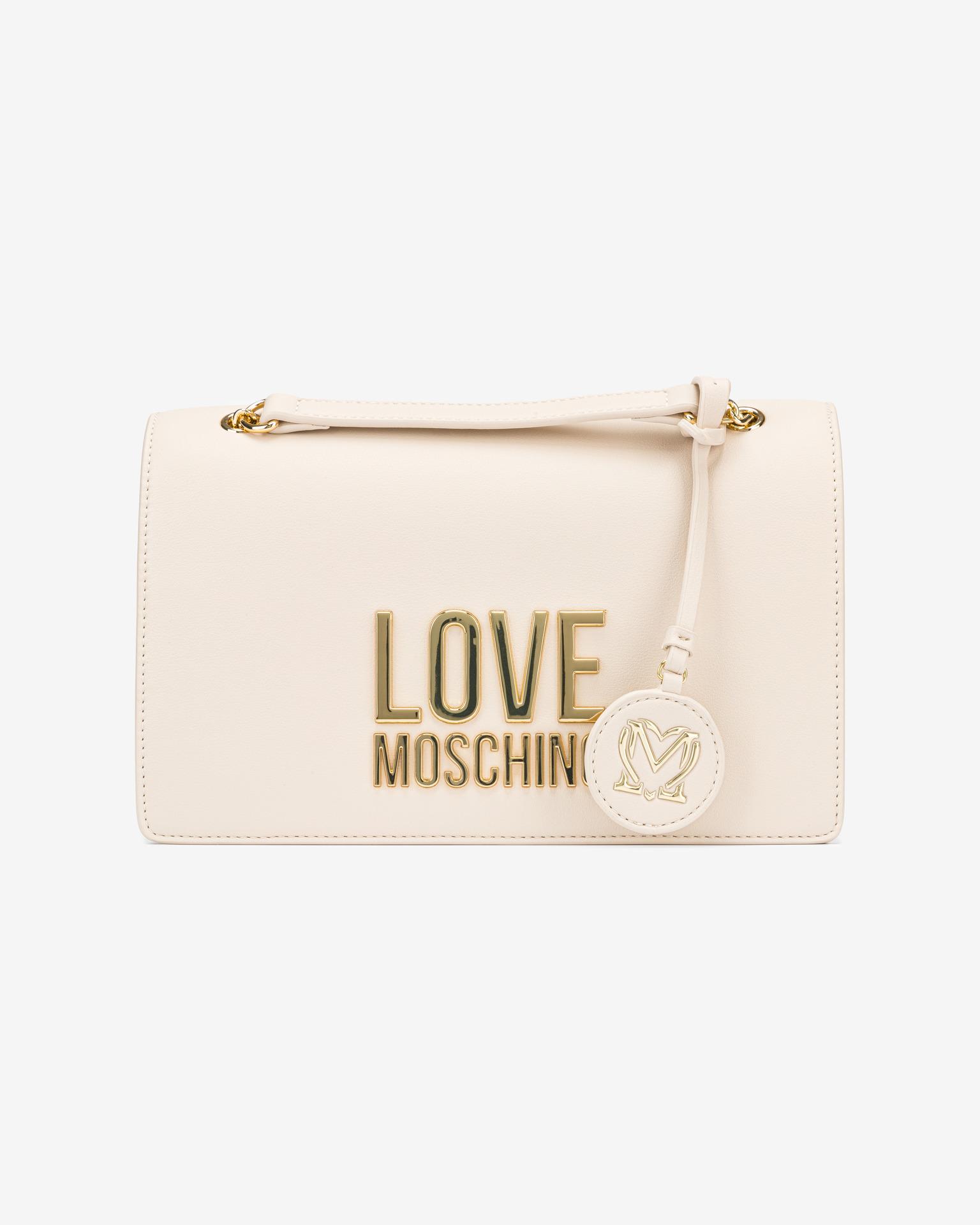 Love Moschino Cross body bag Biały Beżowy
