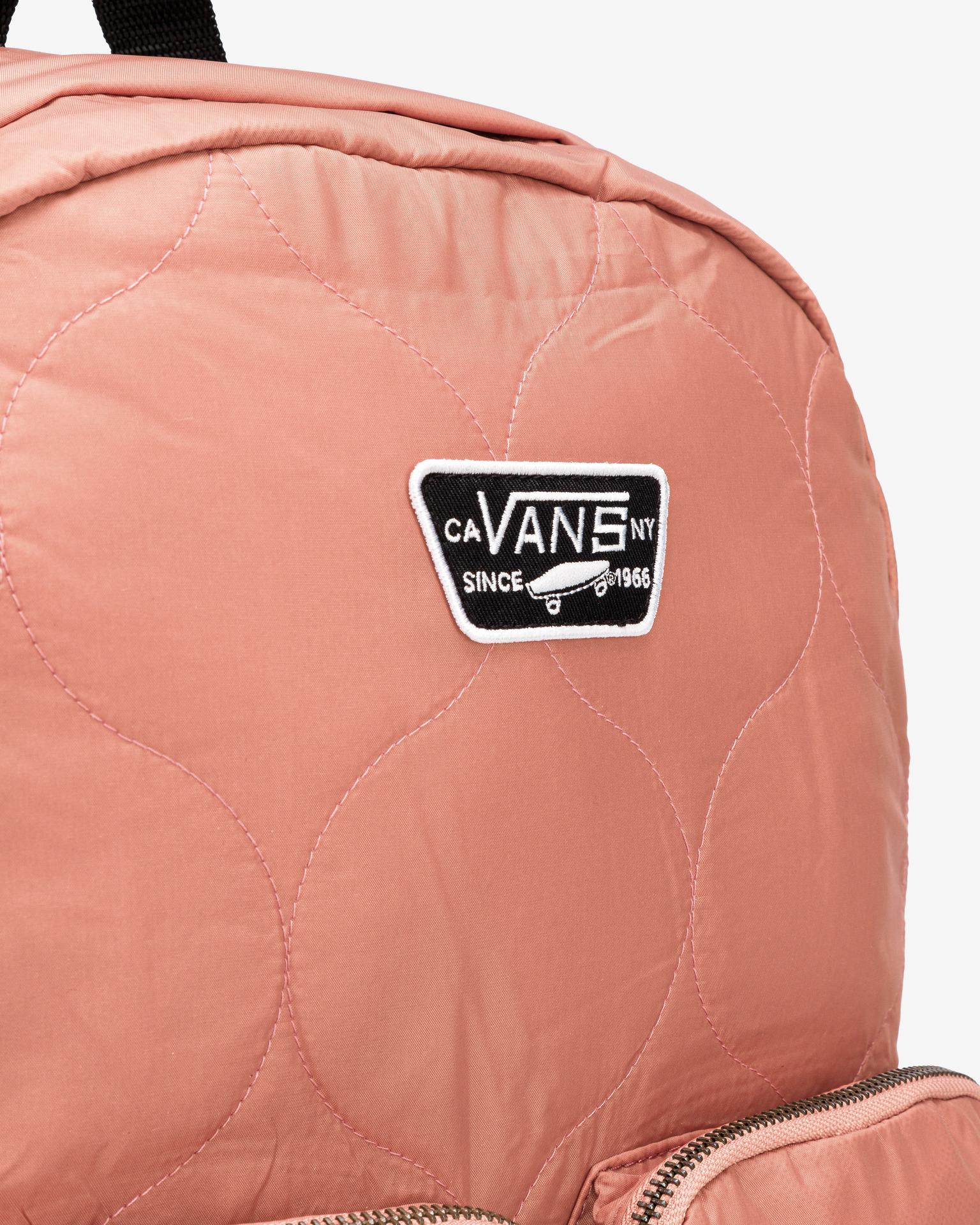 Vans różowy plecak Long Haul