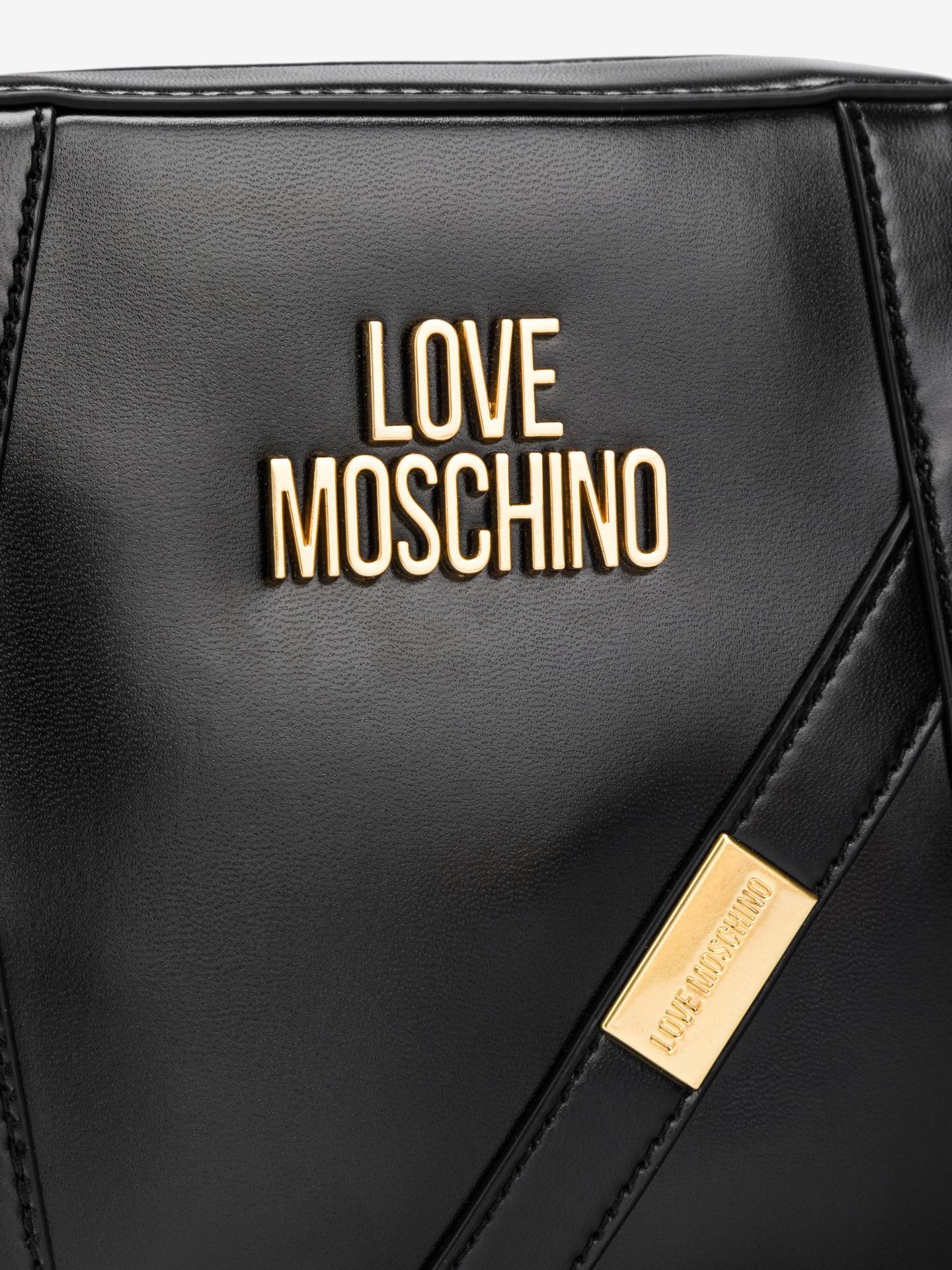 Love Moschino czarny crossbody torebka