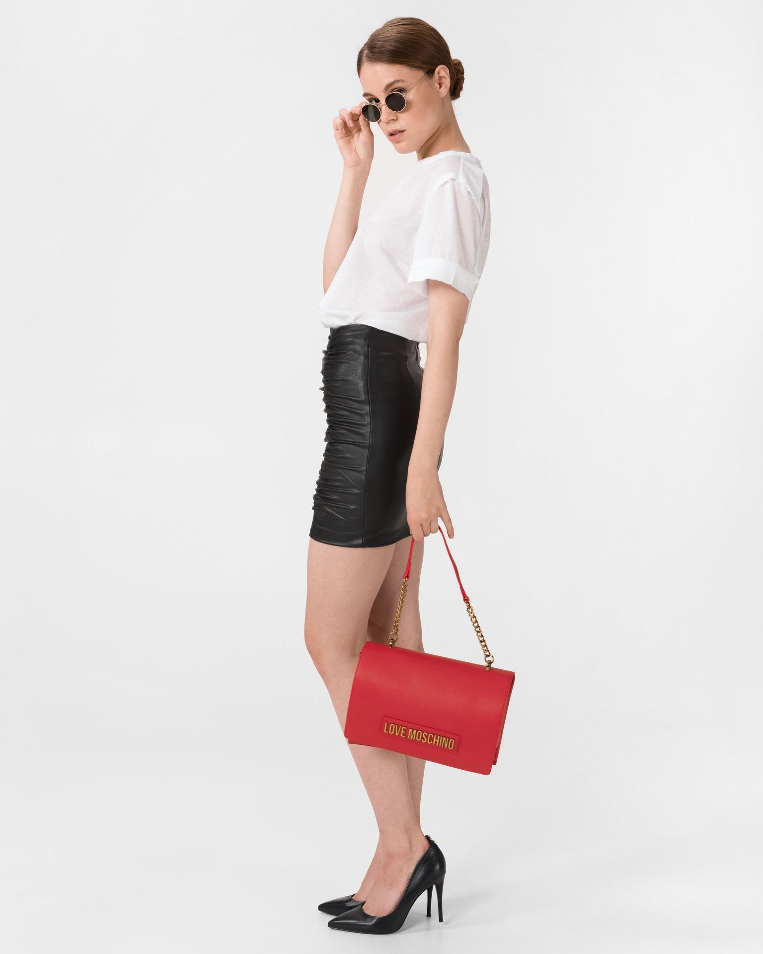 Love Moschino czerwony torebka