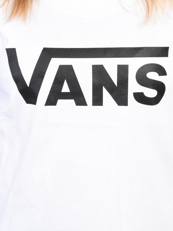 Vans biały top Vans FLYING V MUSCLE SCOO