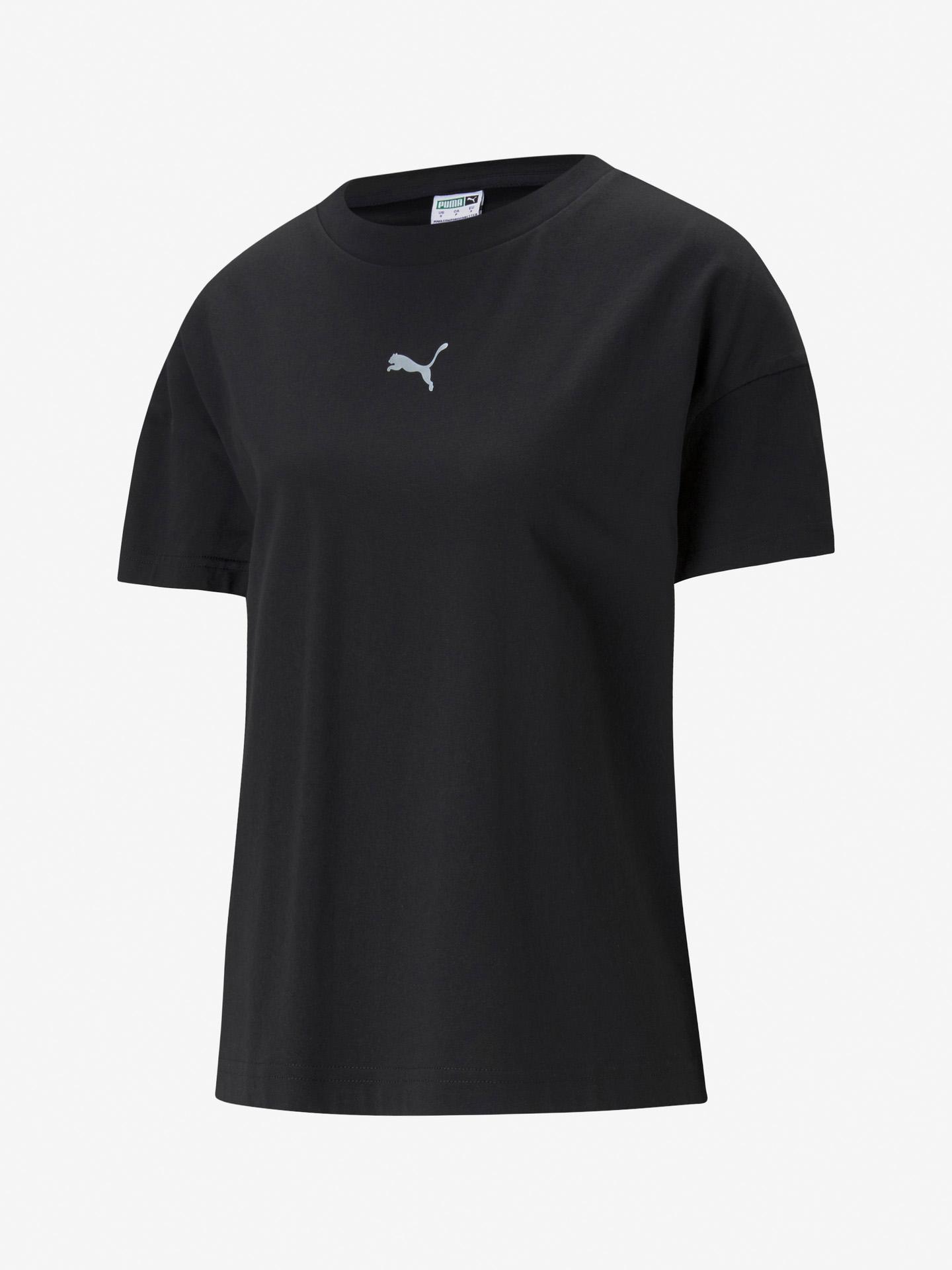 Puma Evide Graphic Koszulka Czarny