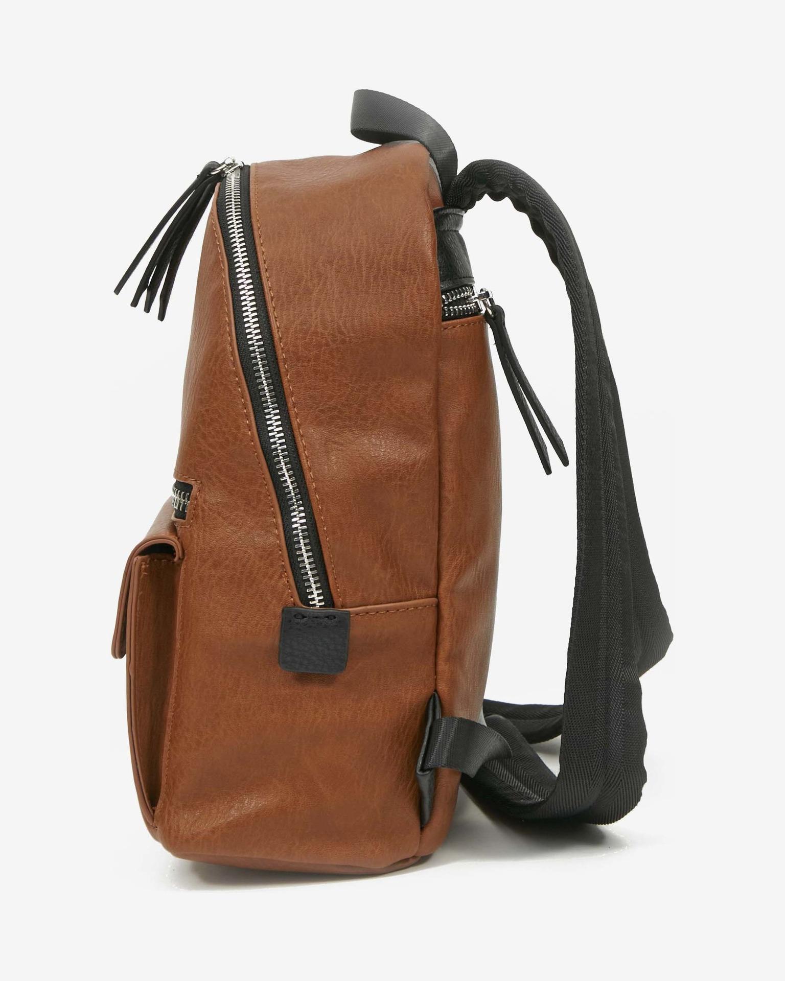 Desigual brązowy plecak Back Embossed Half Mombas