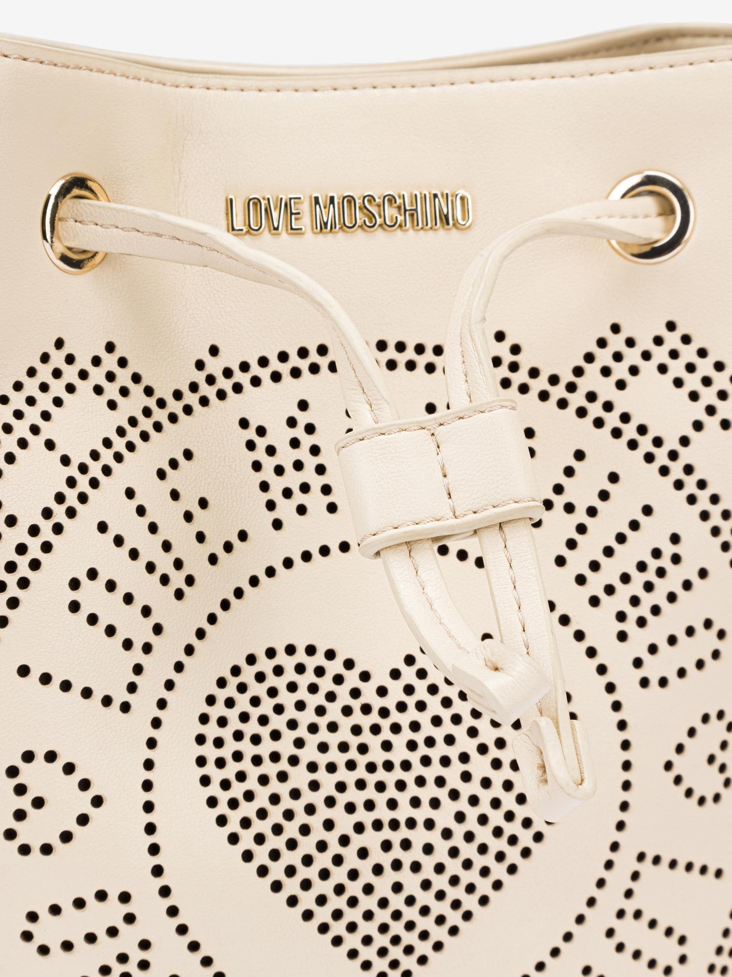 Love Moschino beżowy torebka