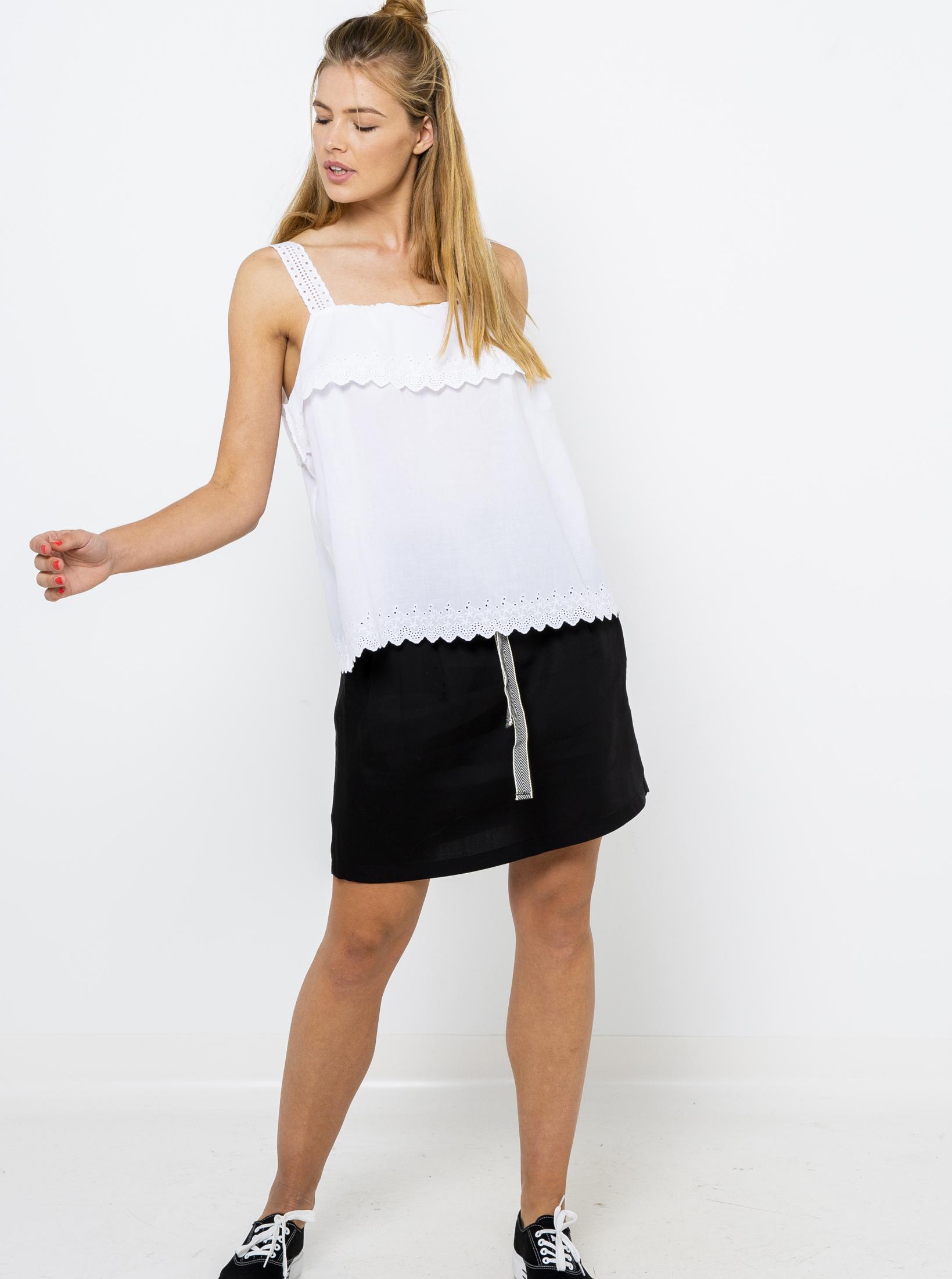CAMAIEU biały damski top