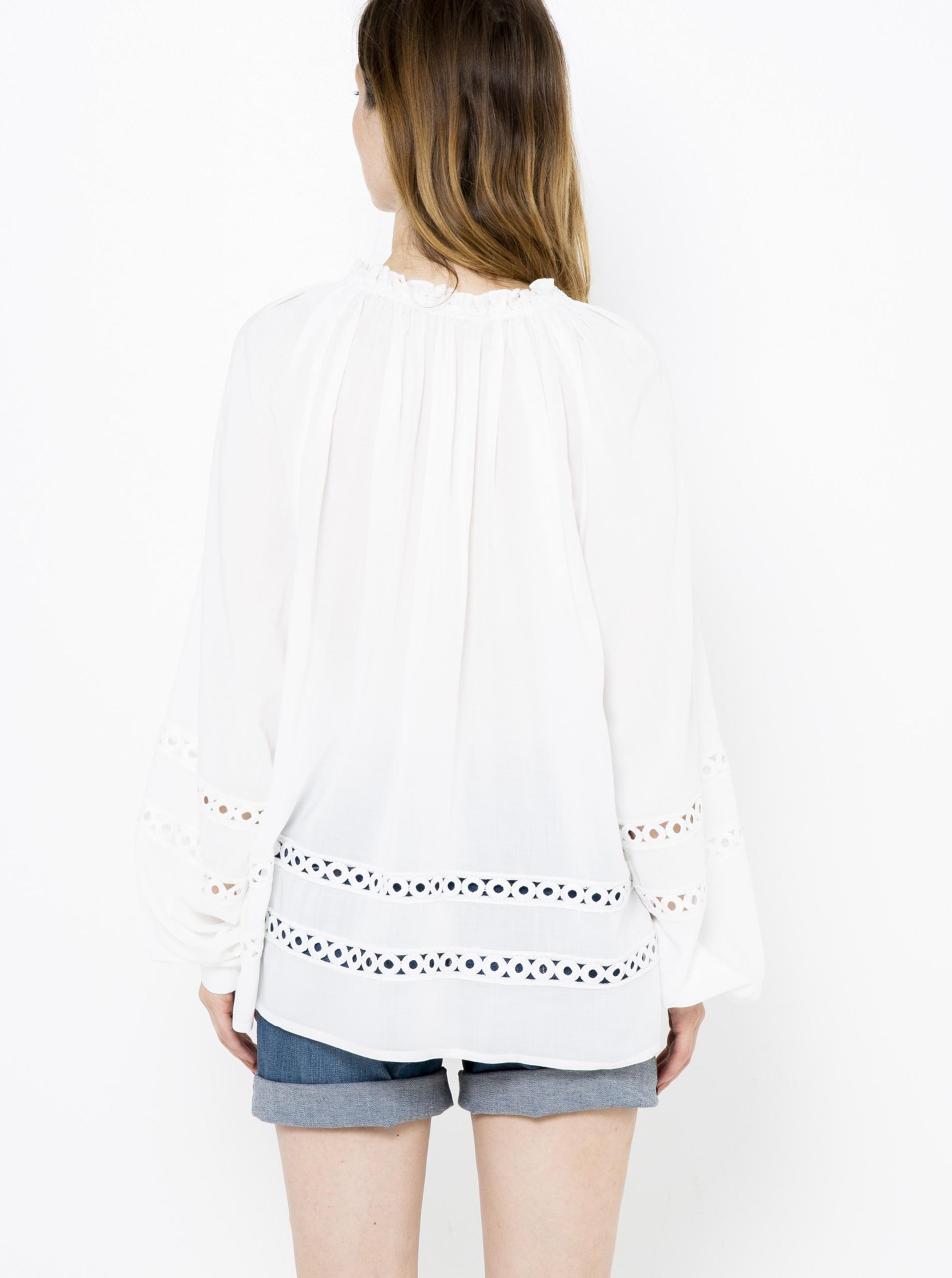 CAMAIEU biały bluzka