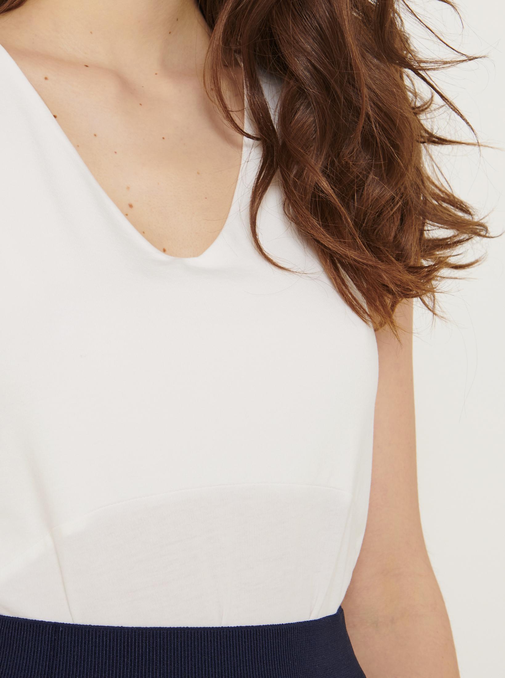 CAMAIEU biały top