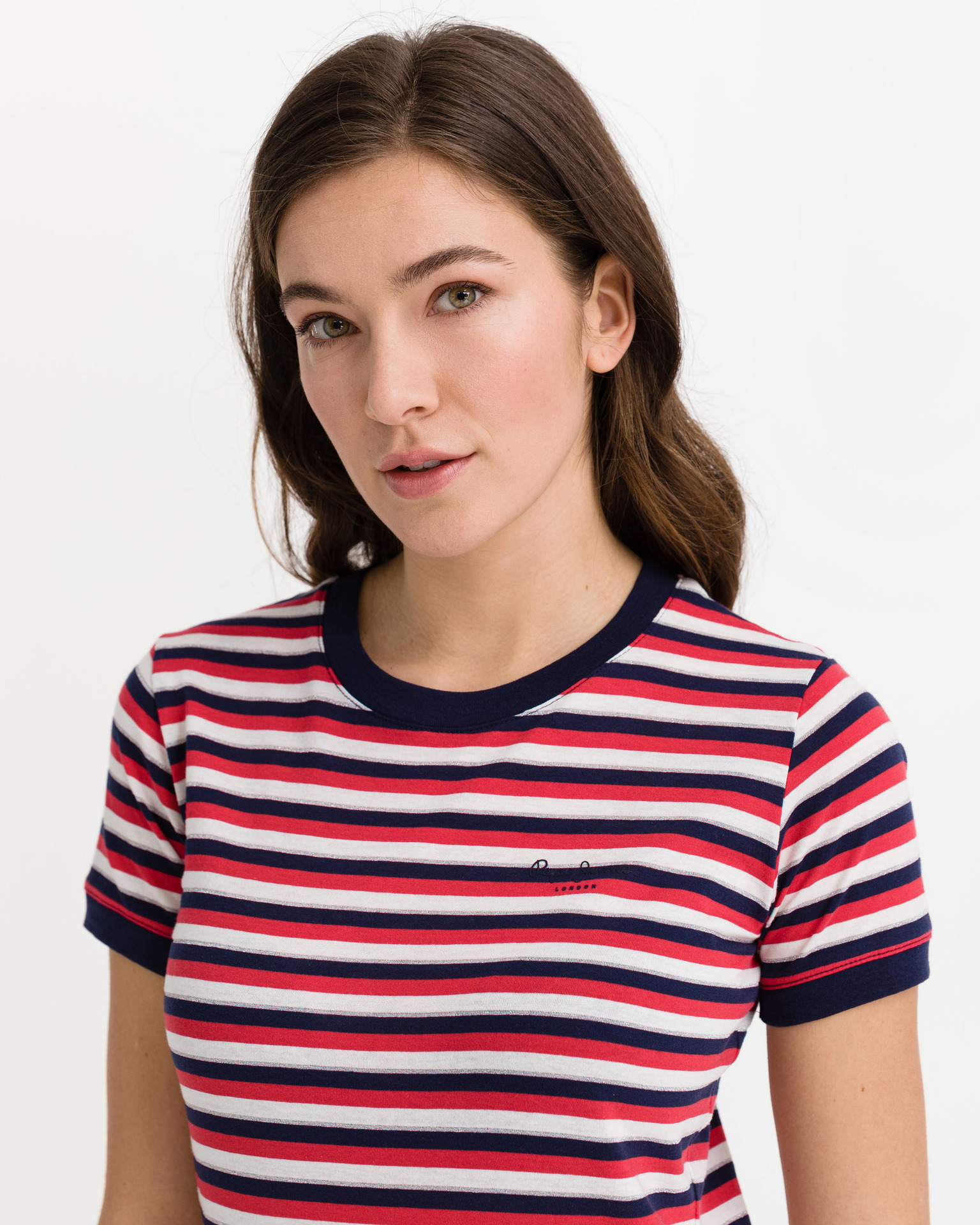 Pepe Jeans Bethany T-shirt Red White