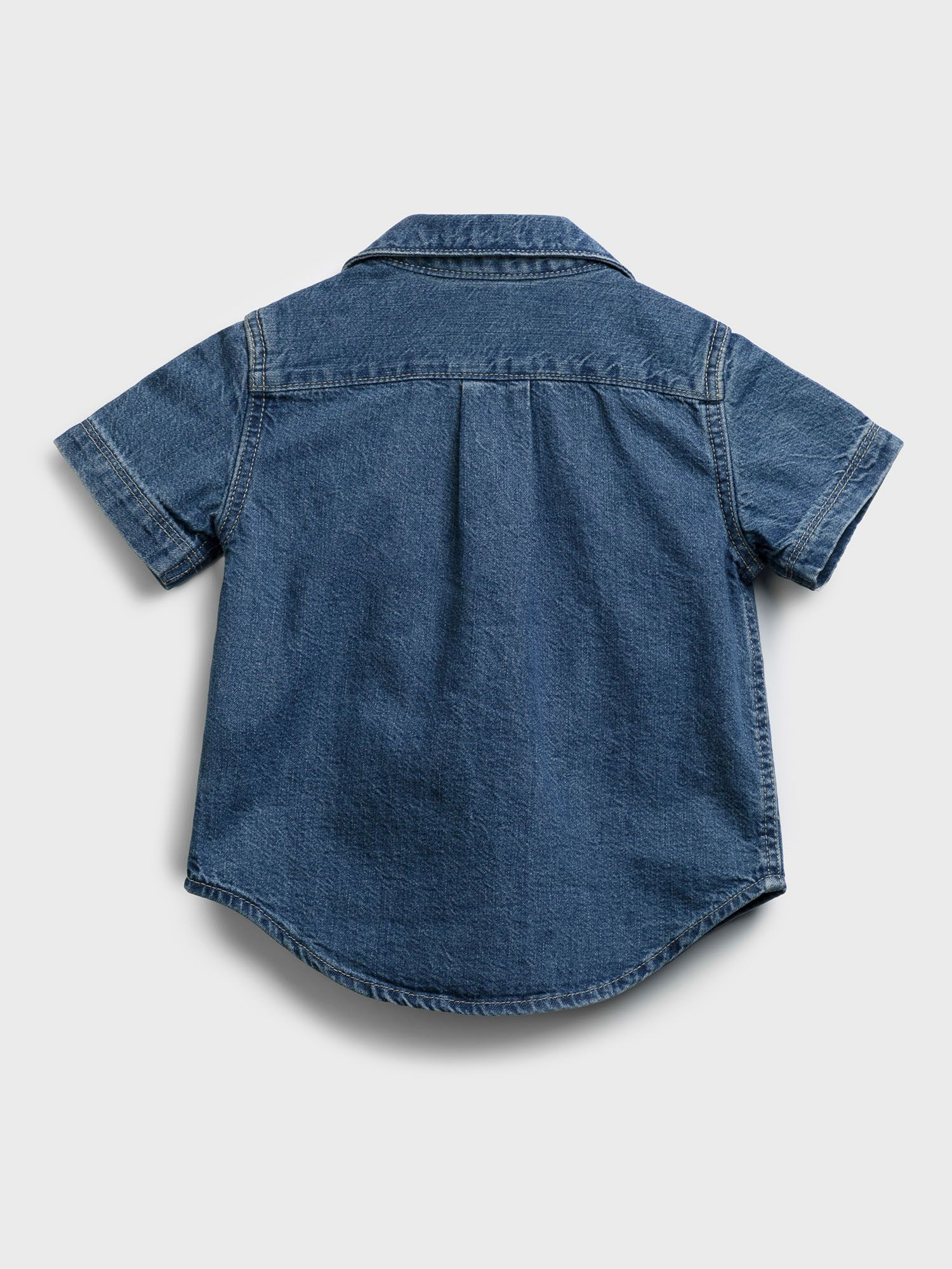 GAP Koszula dziecięca Niebieski