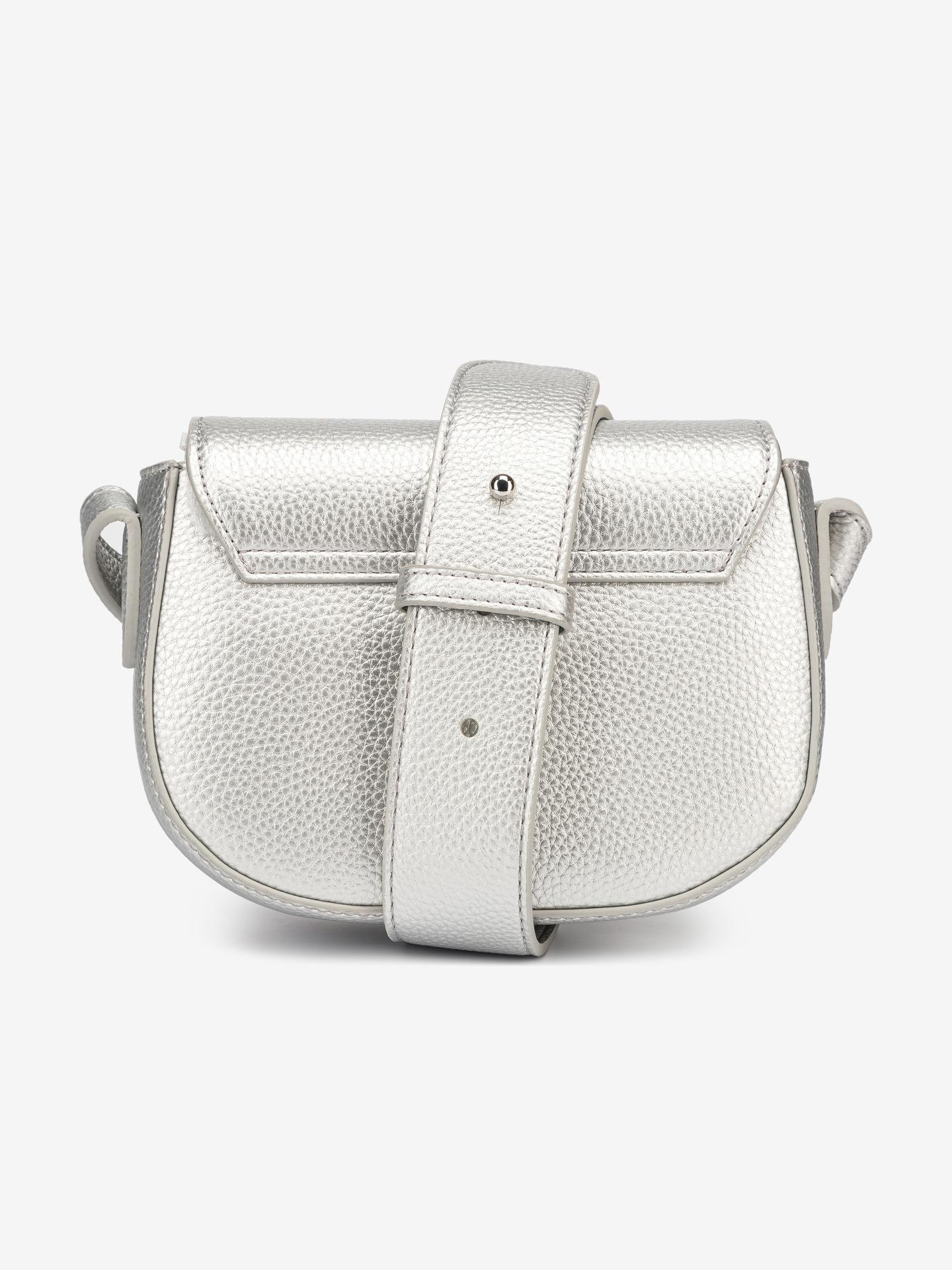Armani Exchange srebrny torebka