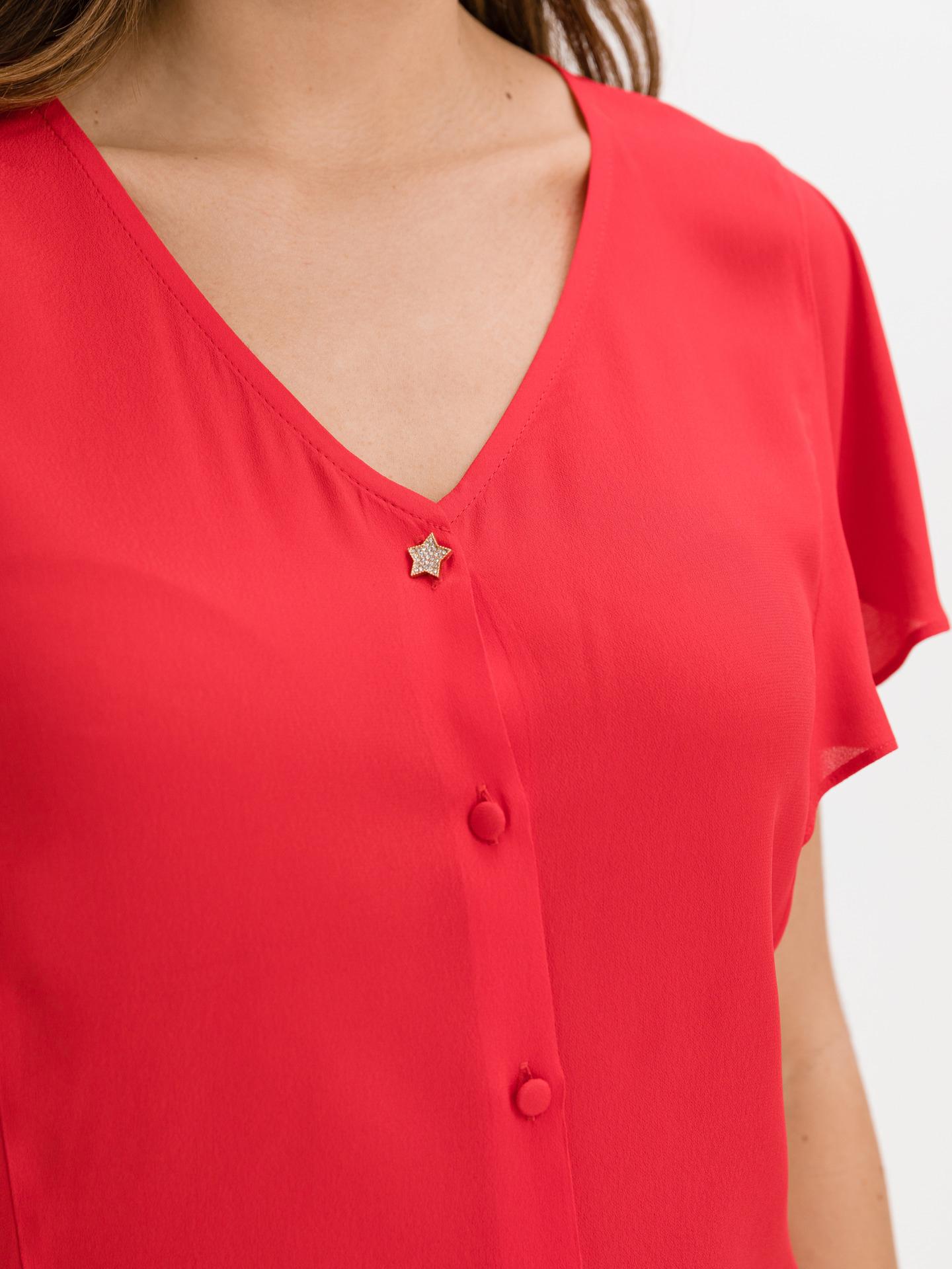 Liu Jo czerwony damska koszulka