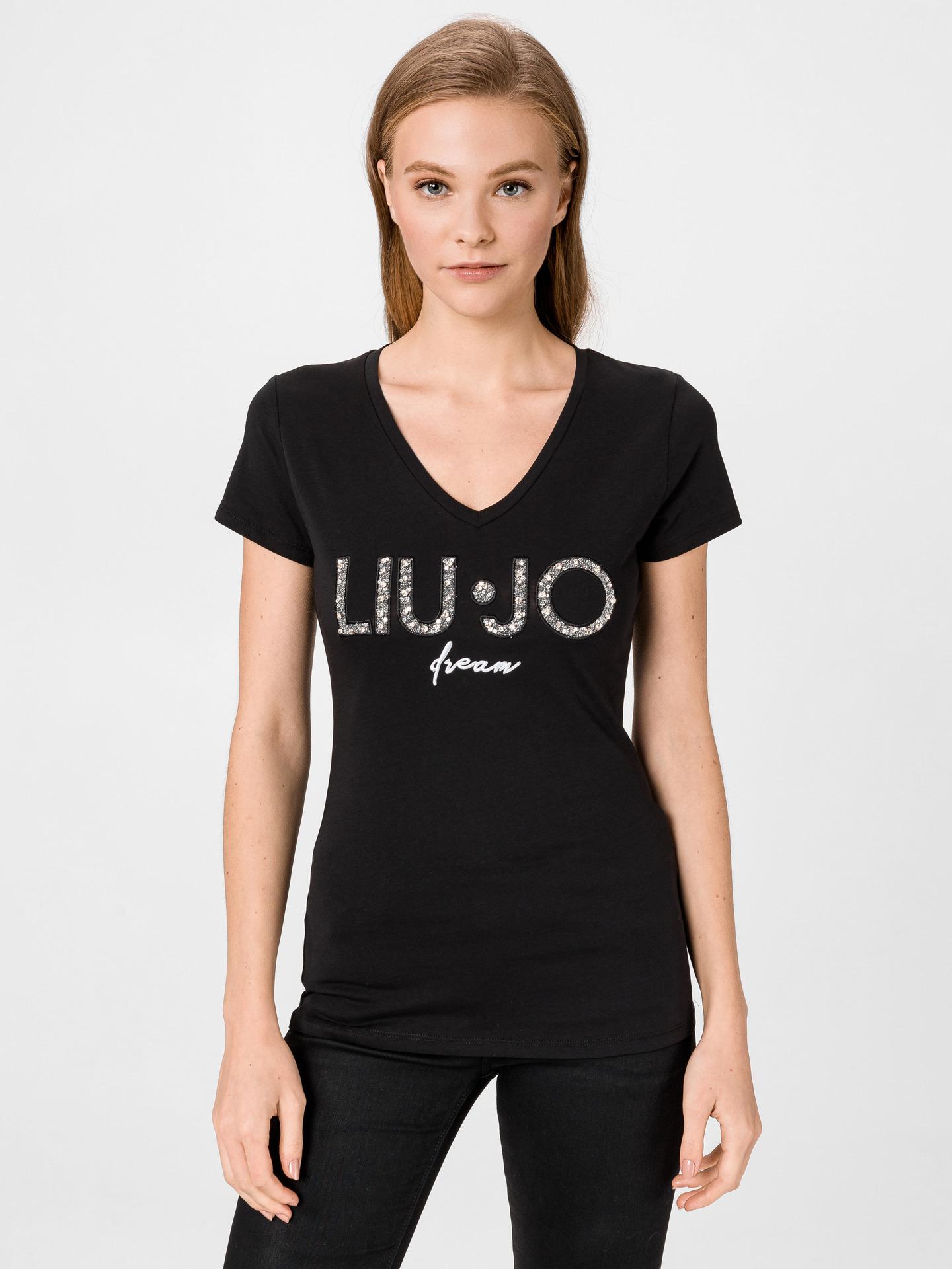 Liu Jo czarny damska koszulka