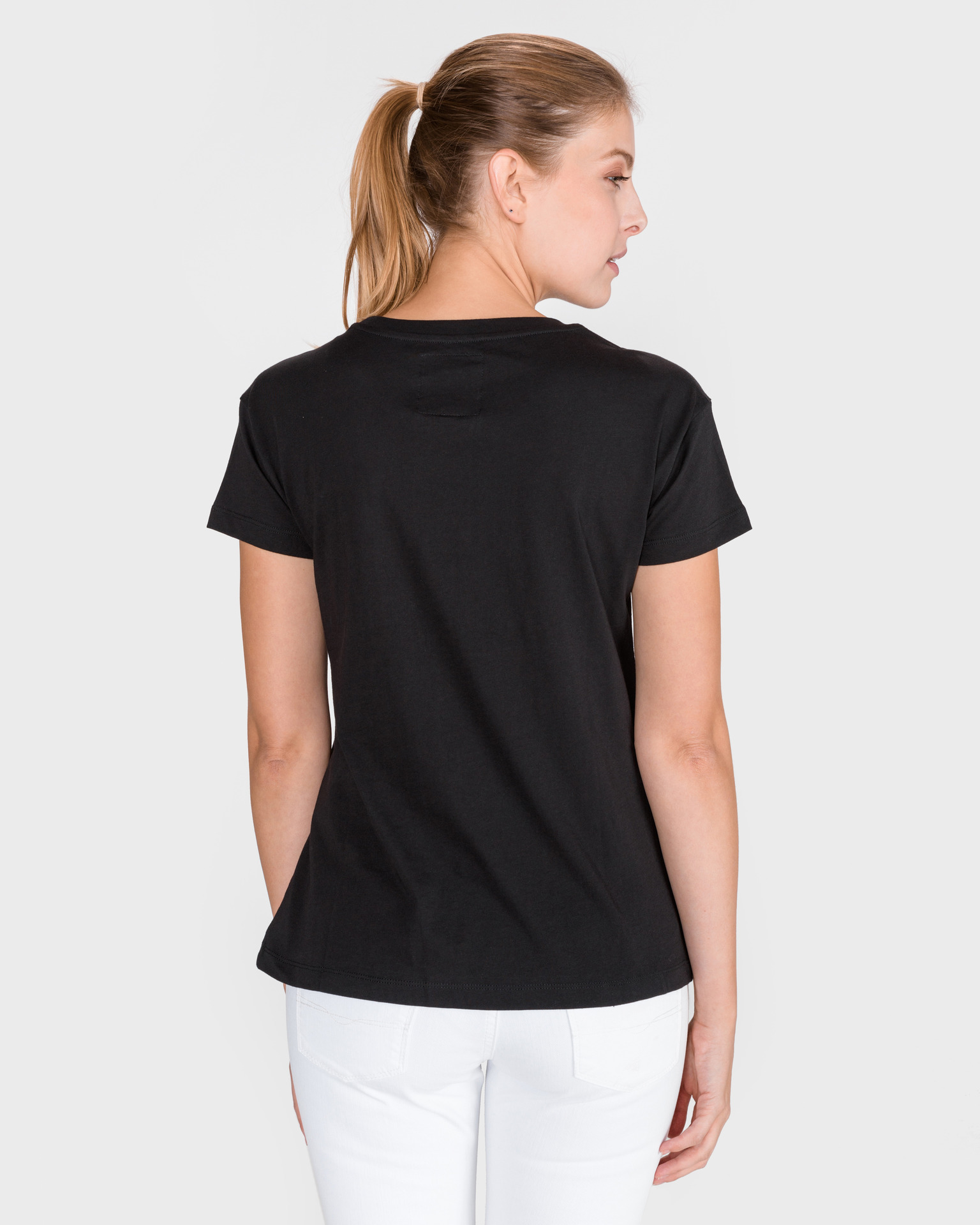 Armani Exchange czarny damska koszulka