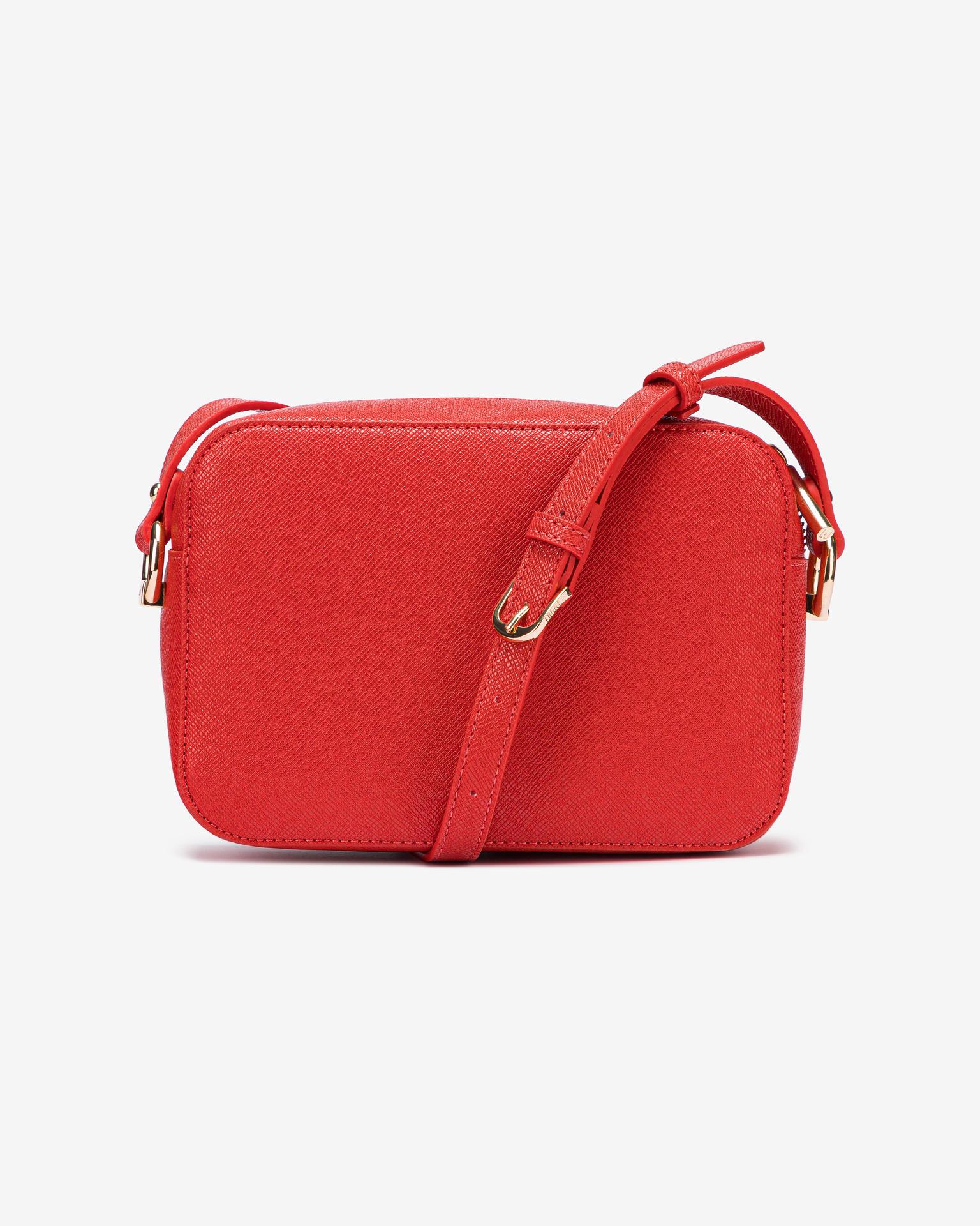 Liu Jo czerwony crossbody torba