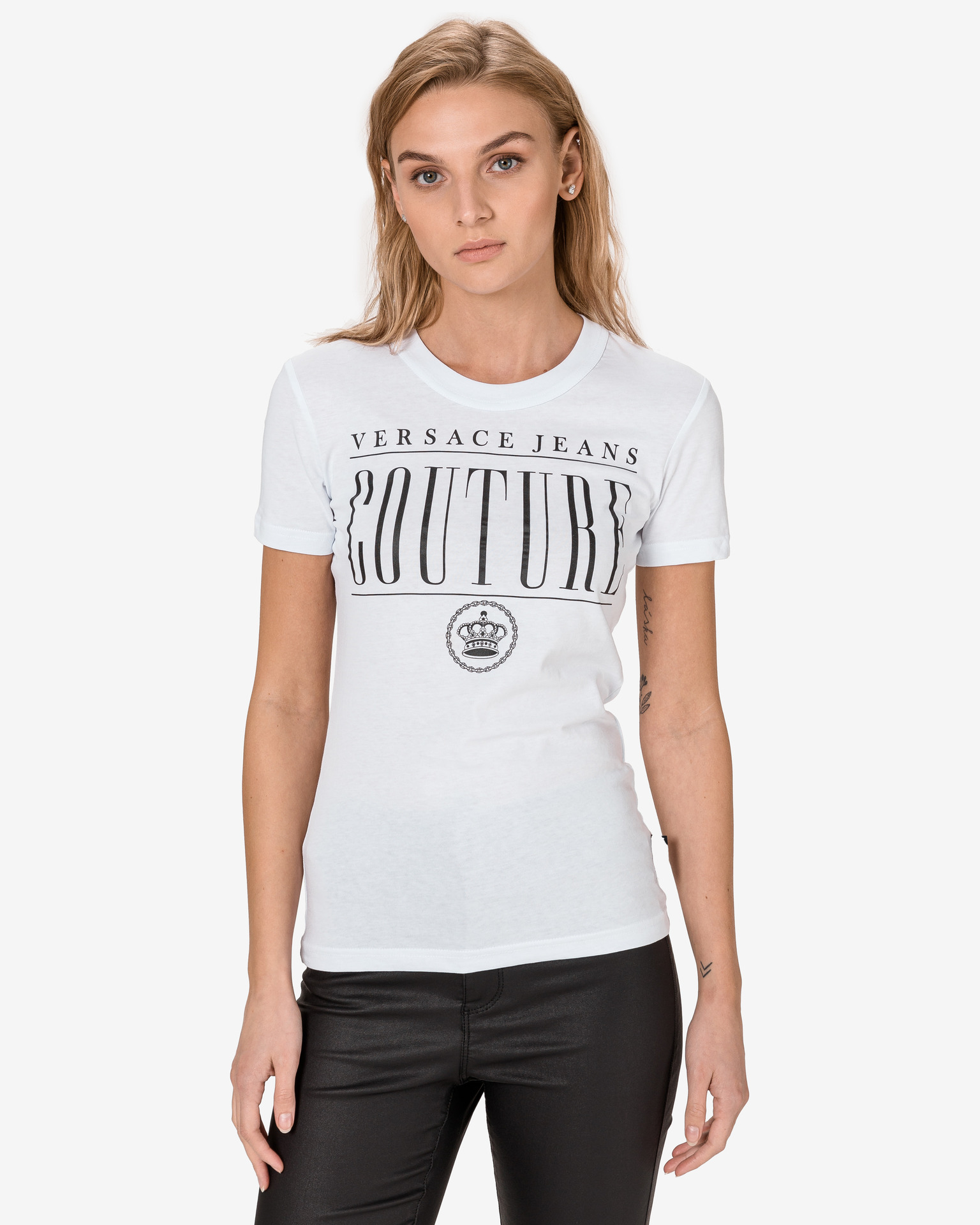 Versace Jeans Couture Koszulka Biały