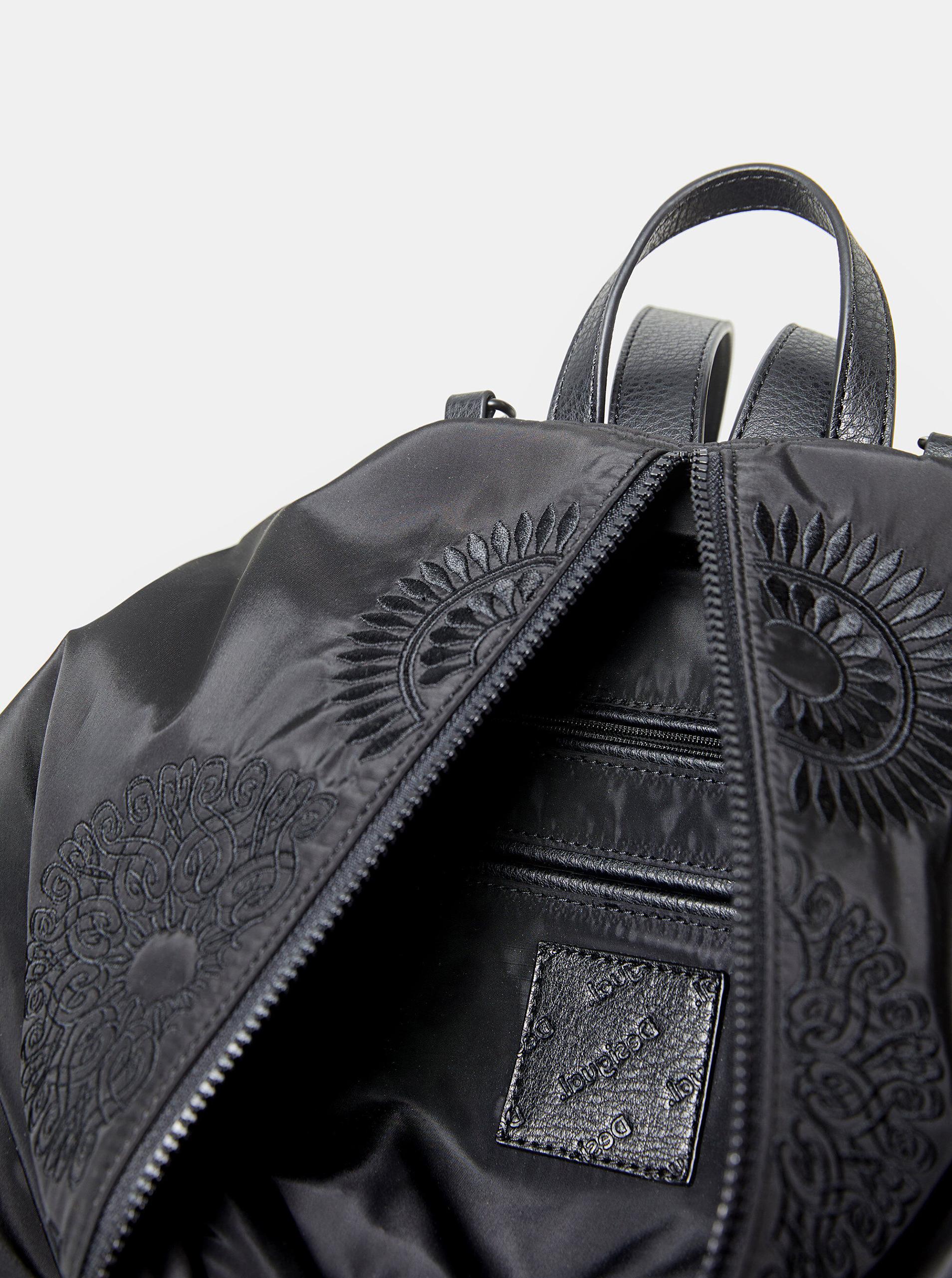 Desigual czarny plecak Mandarala Viana