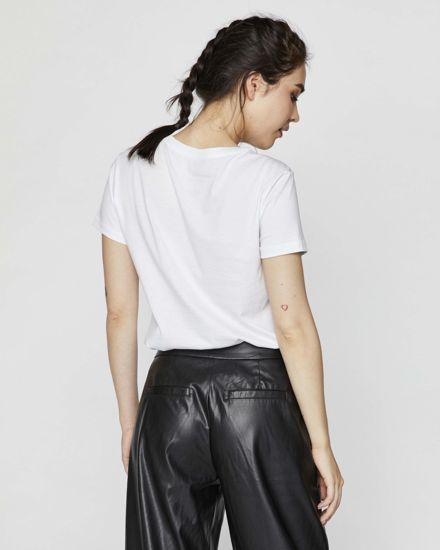 Armani Exchange biały damska koszulka