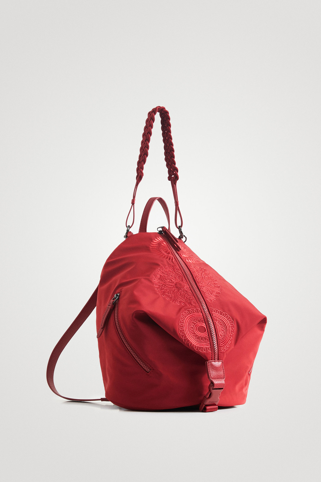 Desigual czerwony plecak Mandarala Viana