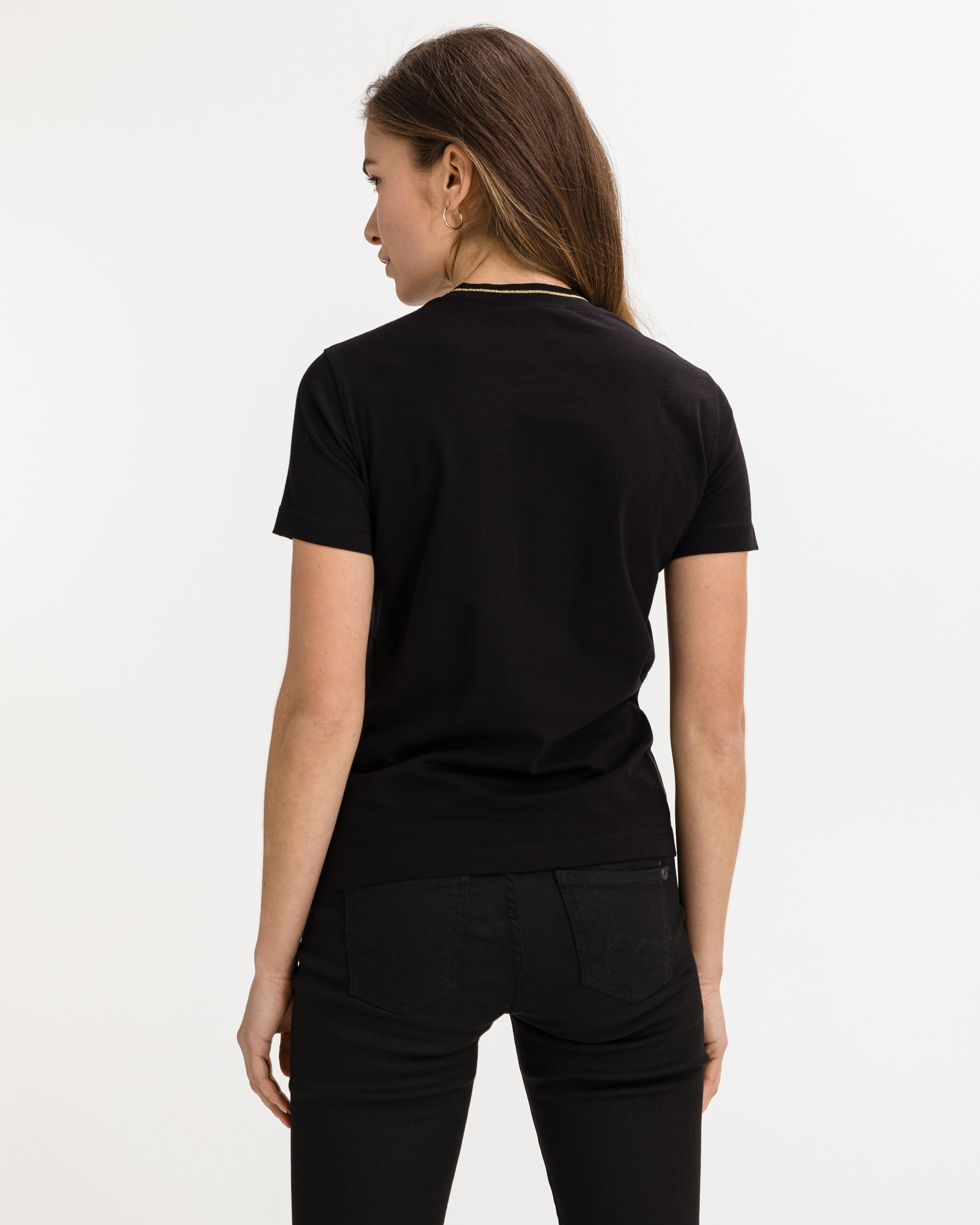Versace Jeans Couture Koszulka Czarny