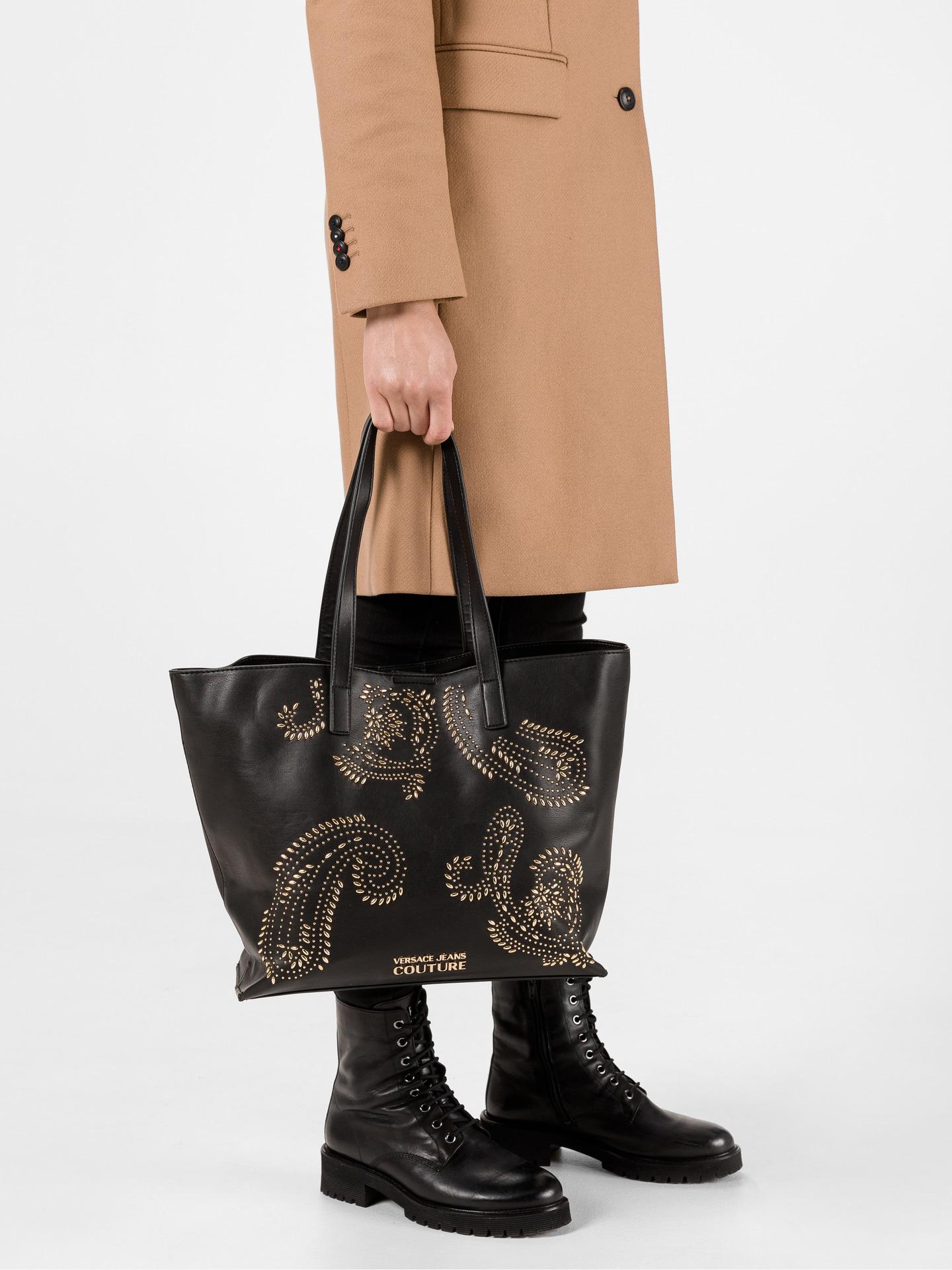 Versace Jeans Couture Torebka Czarny