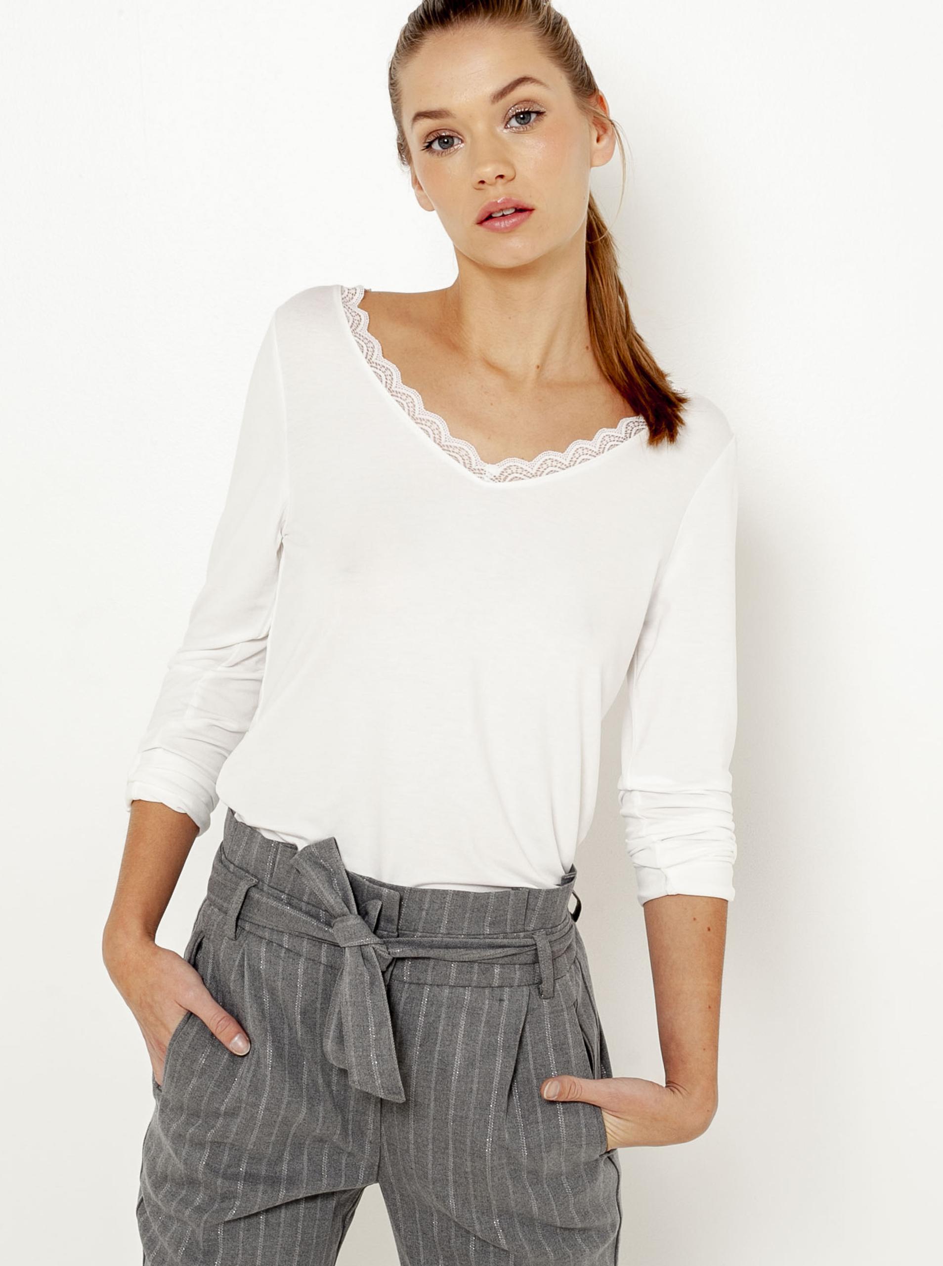 CAMAIEU biały koszulka