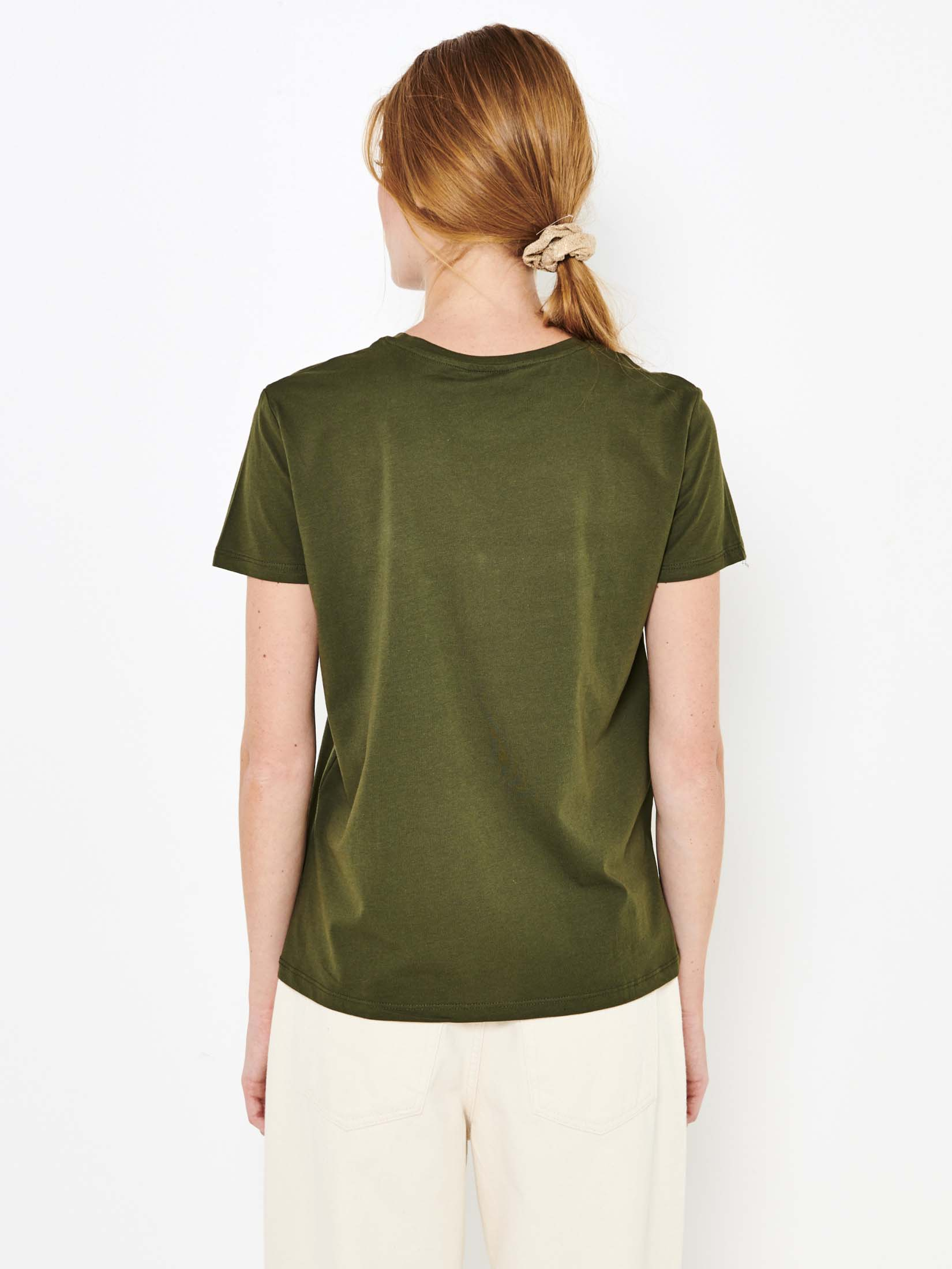 CAMAIEU Koszulka damska khaki
