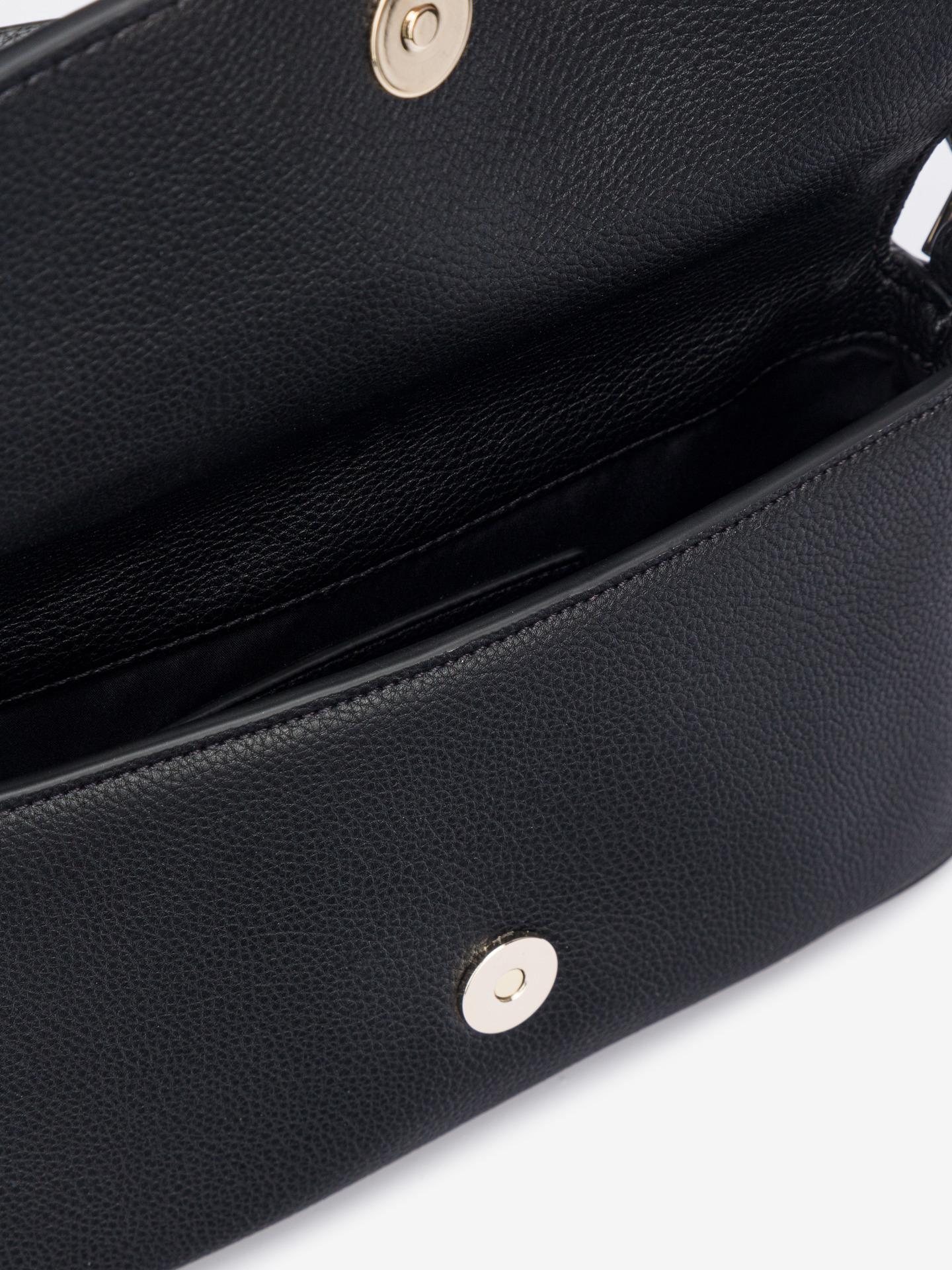 Calvin Klein czarny crossbody torebka Ew Flap