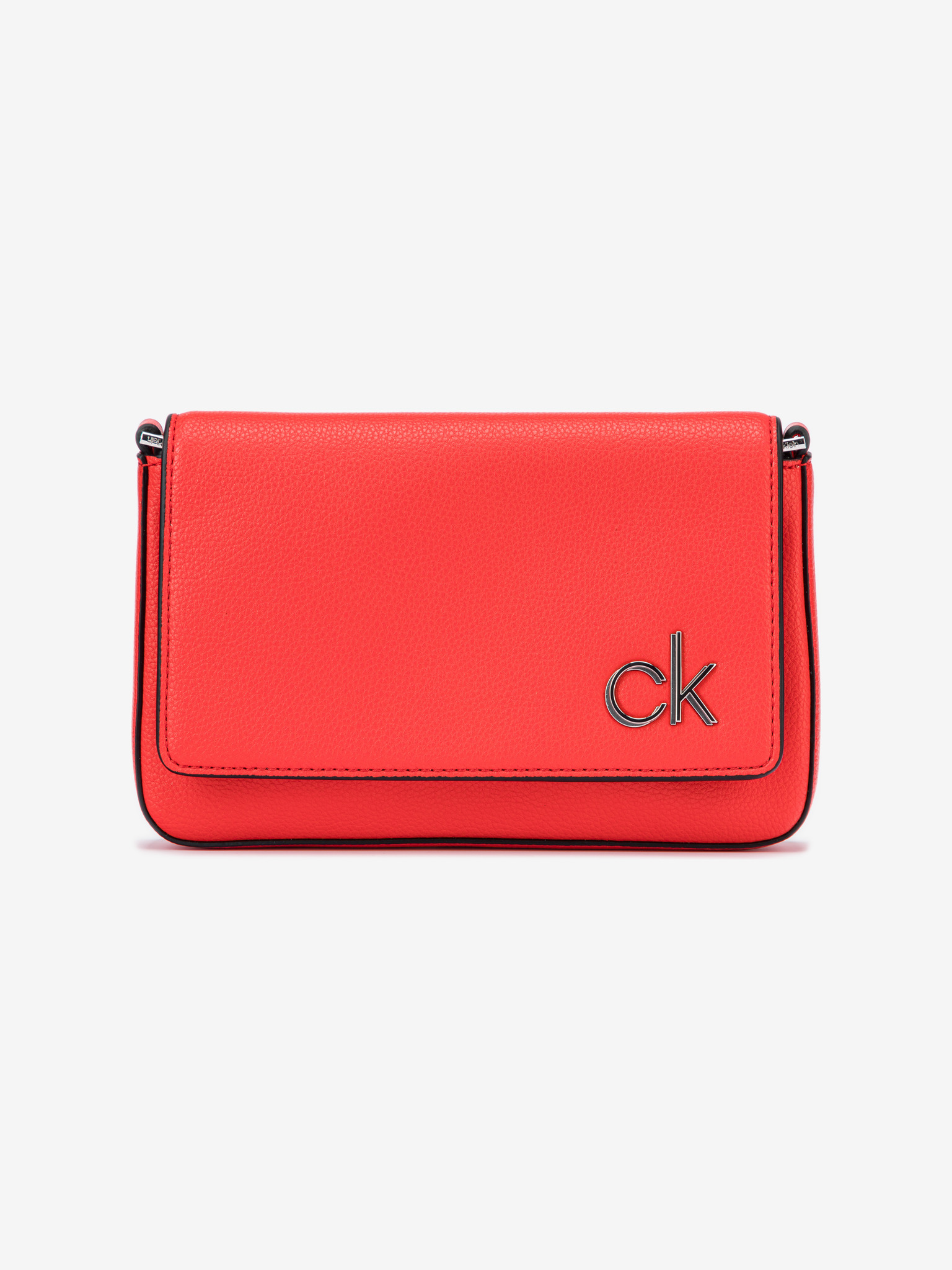 Calvin Klein czerwony crossbody torebka Ew Flap