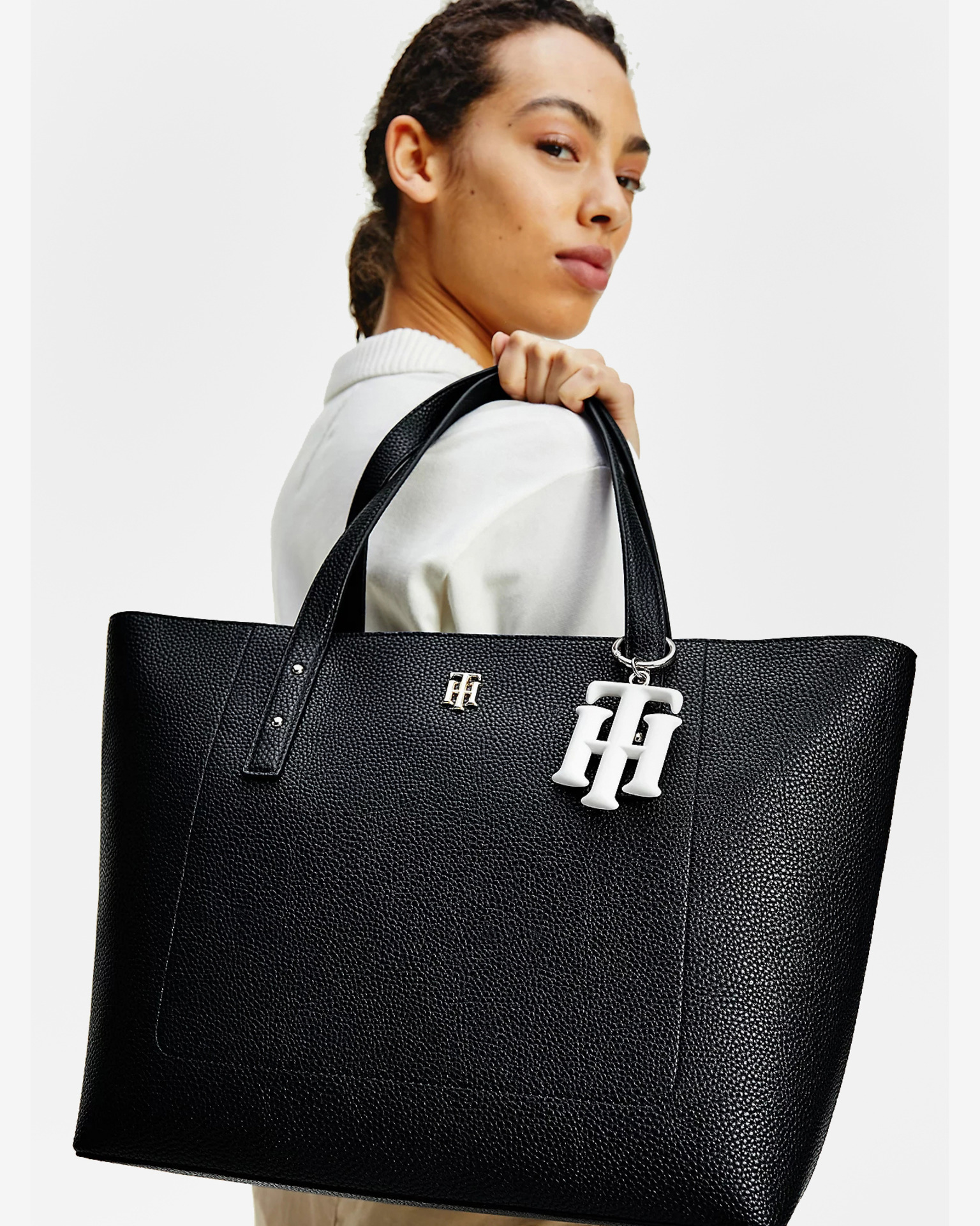 Tommy Hilfiger niebieski torebka TH Soft