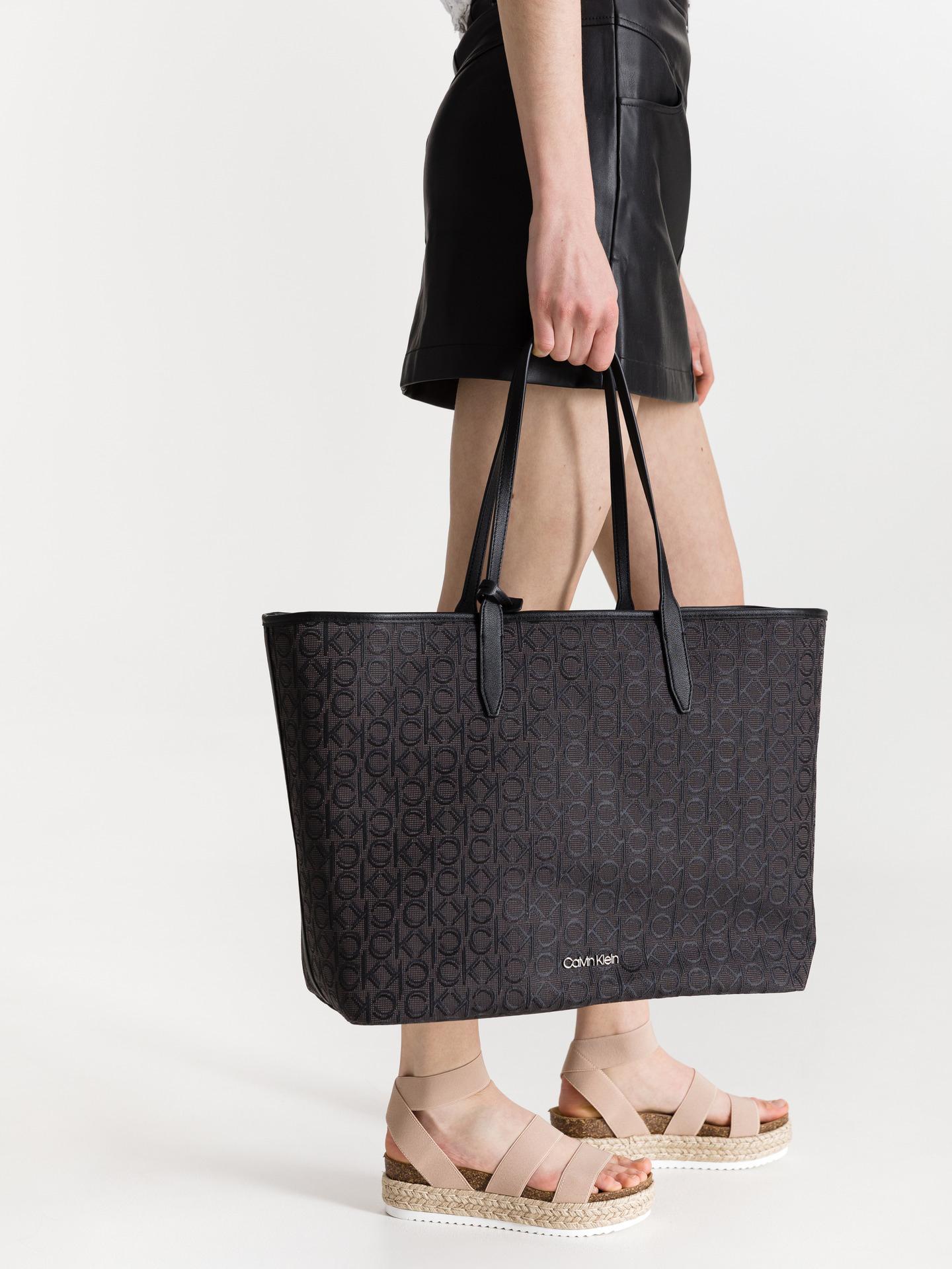 Calvin Klein torebka Jacquard Shopper