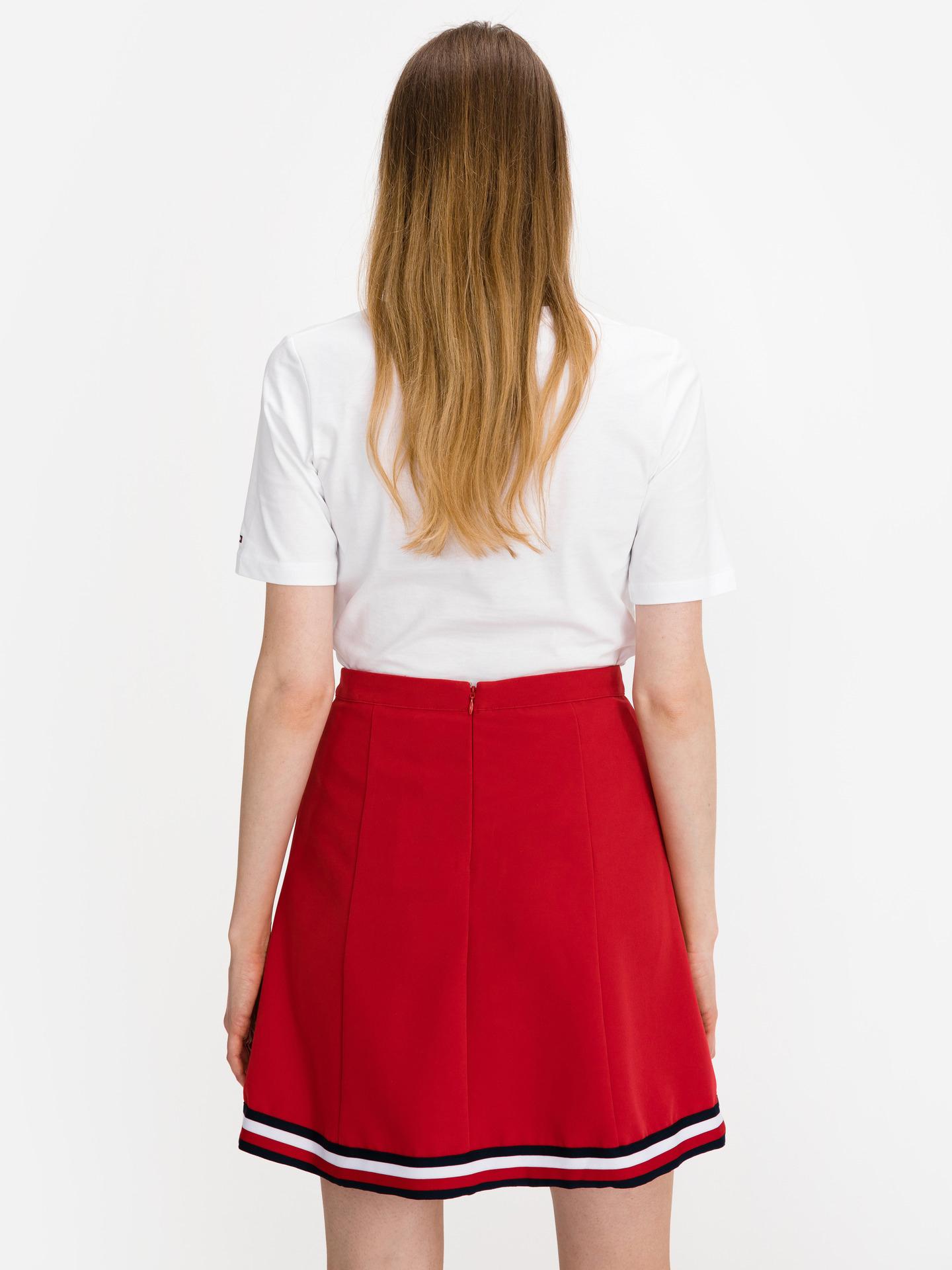 Tommy Hilfiger biały damska koszulka Box Logo