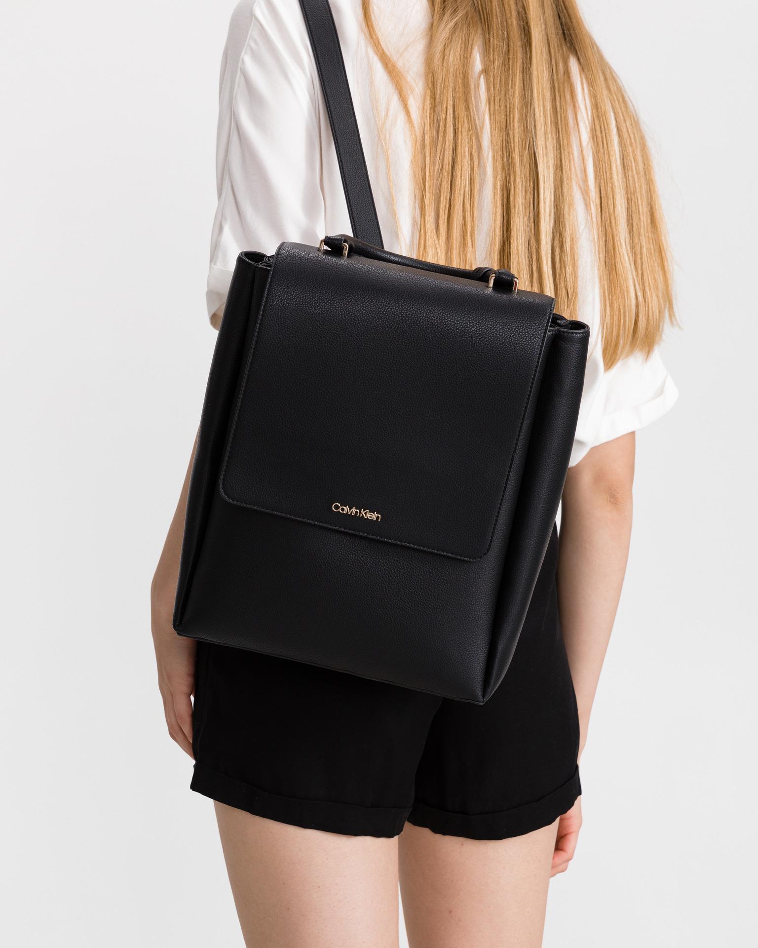 Calvin Klein czarny plecak