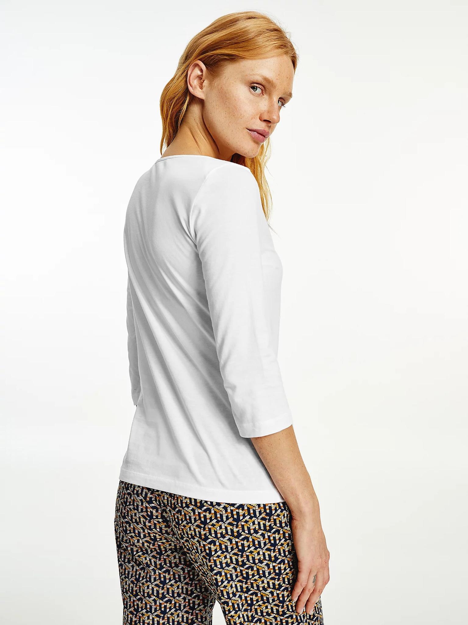 Tommy Hilfiger biały damska koszulka