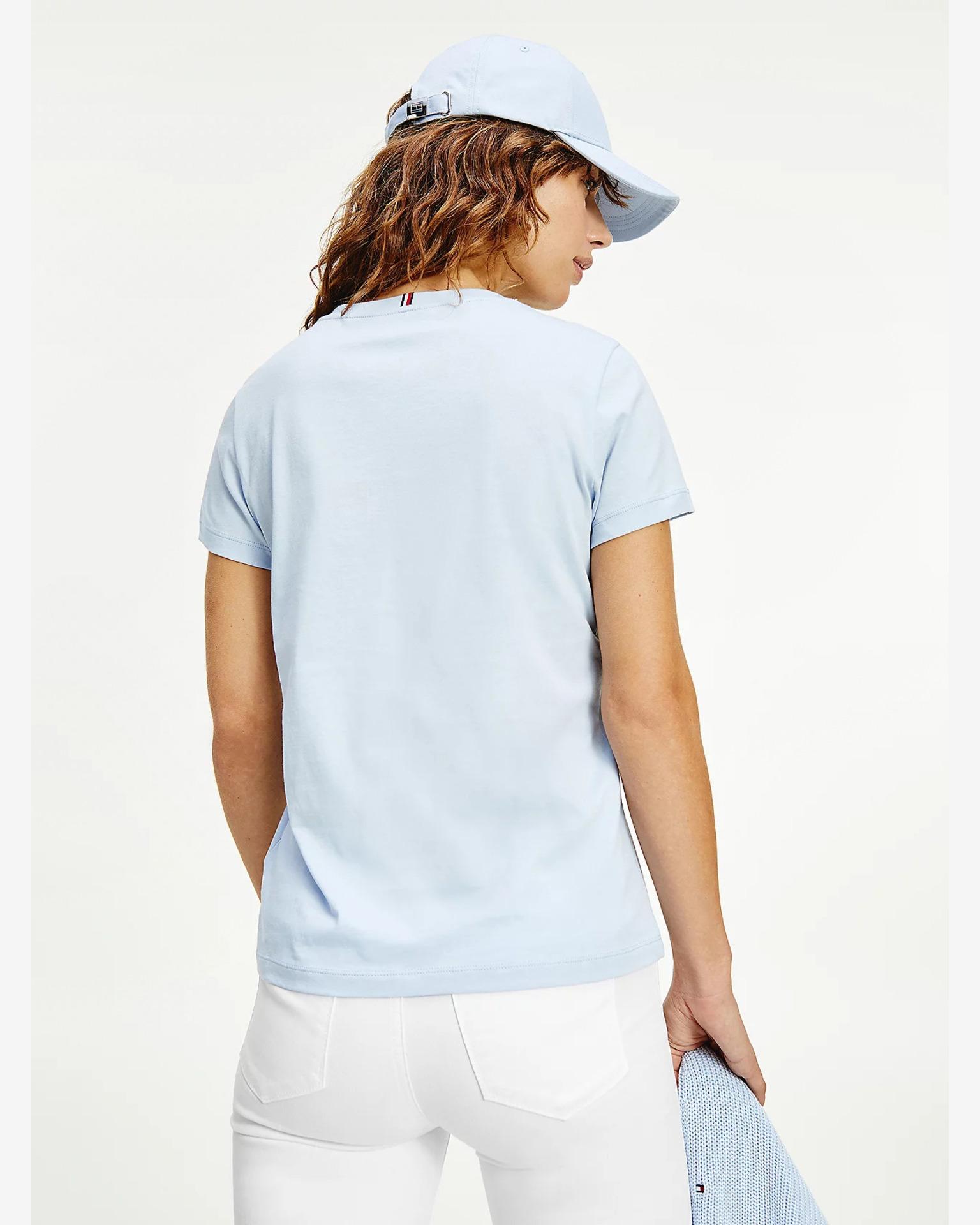 Tommy Hilfiger niebieski damska koszulka