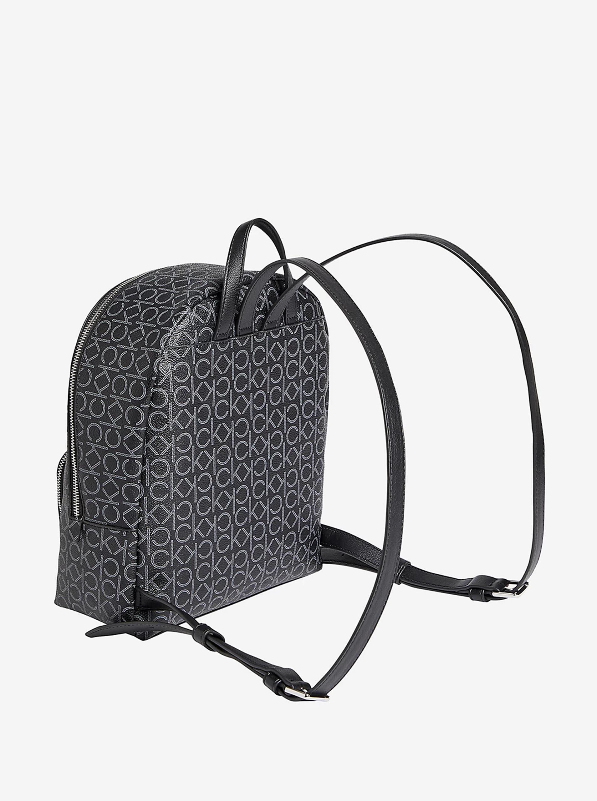 Calvin Klein czarny plecak Must Campus