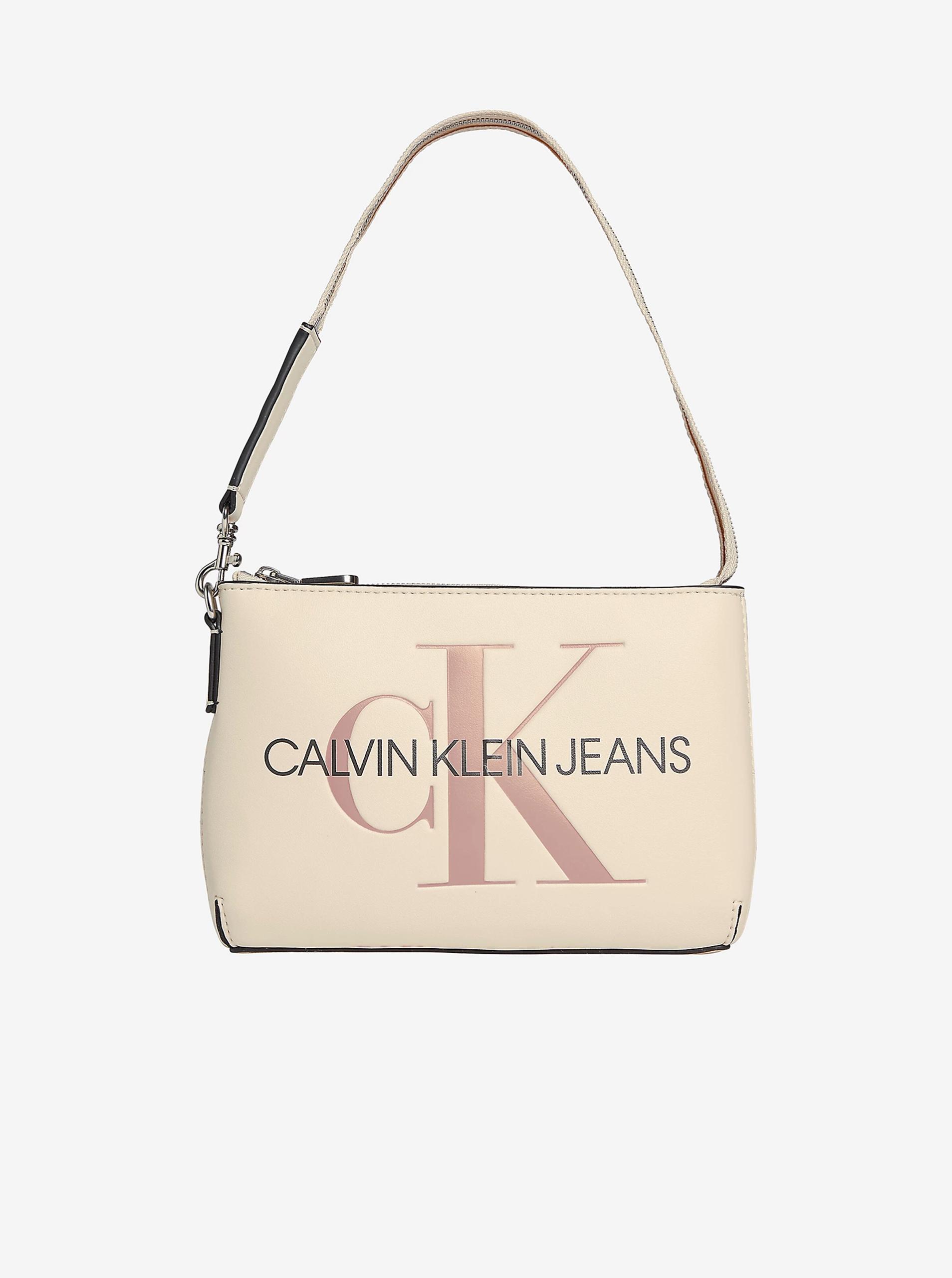 Calvin Klein écru/kremowy torebka