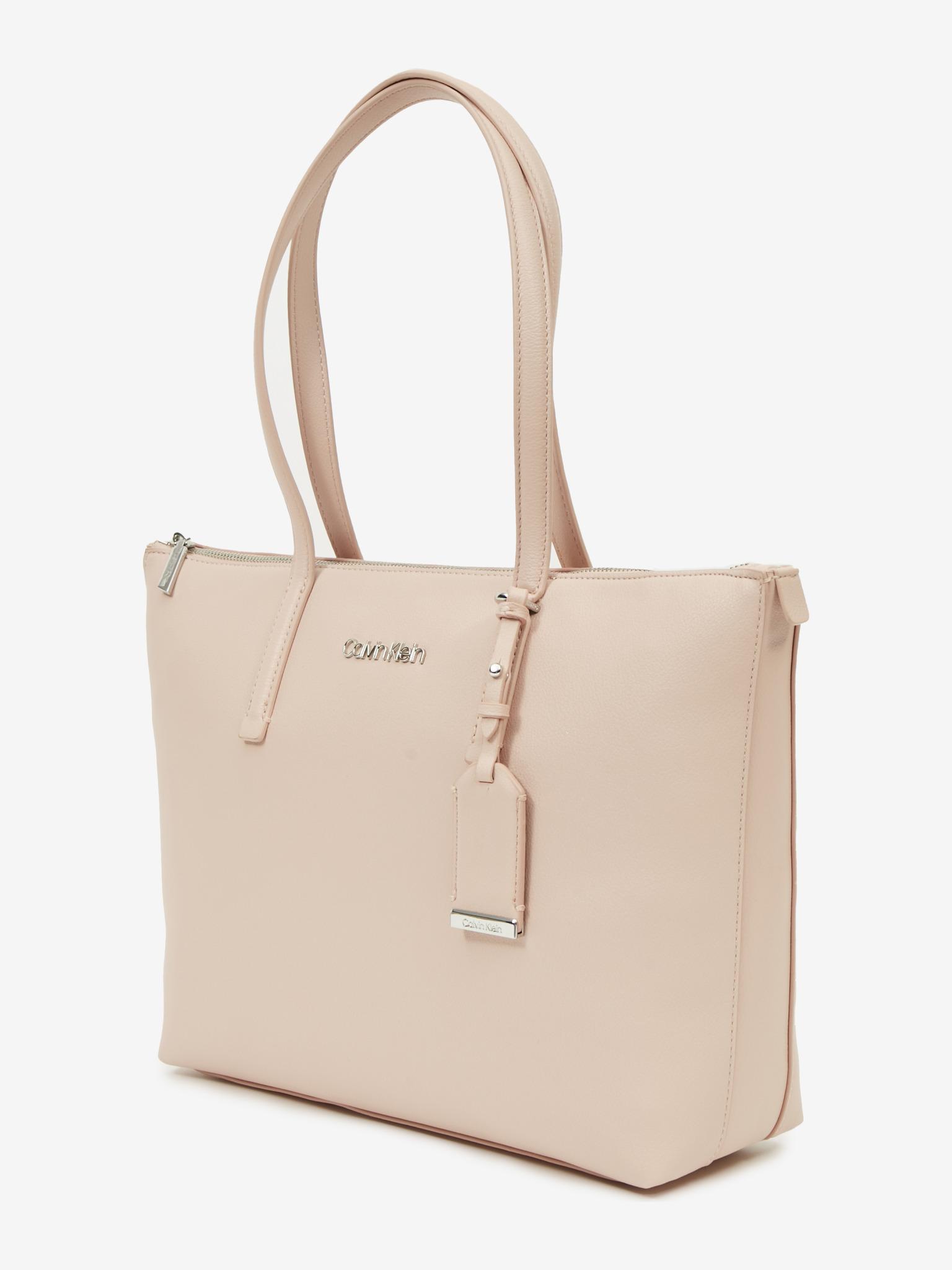 Calvin Klein beżowy torebka