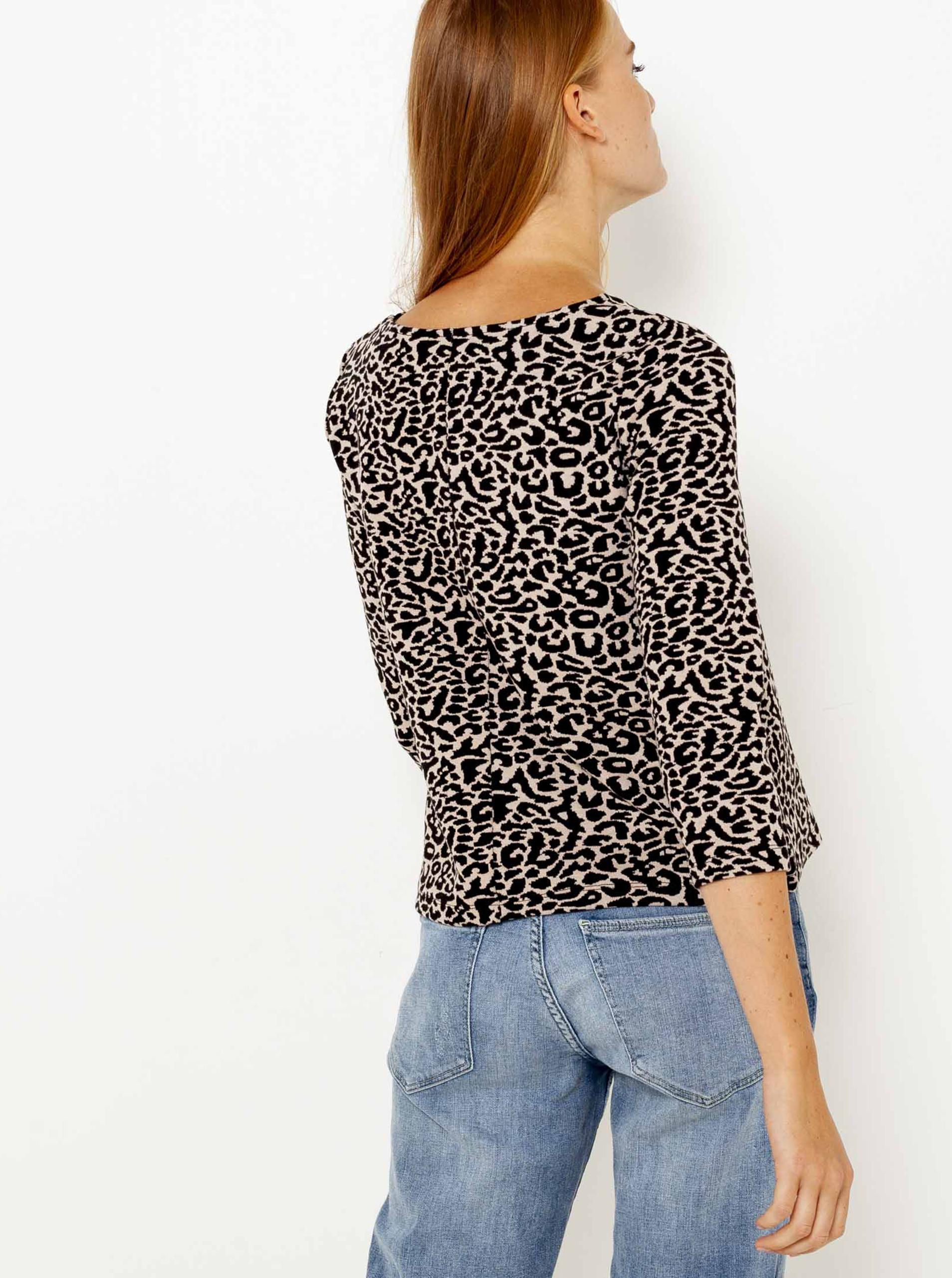 CAMAIEU Koszulka damska kremowy