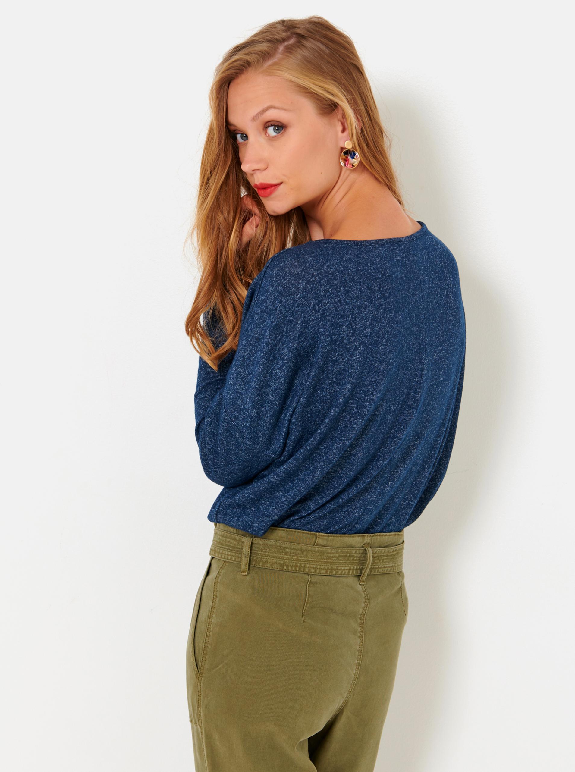 CAMAIEU oliwkowy damska koszulka