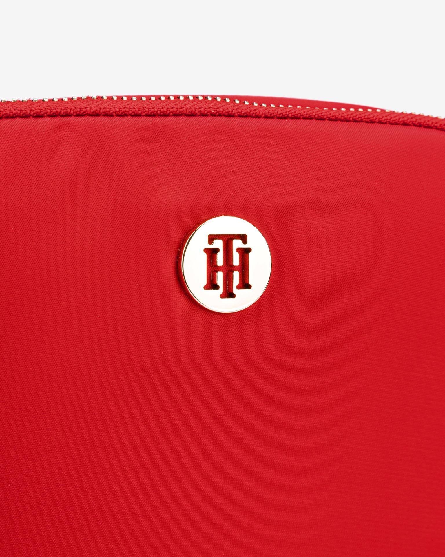Tommy Hilfiger czerwony crossbody torebka Poppy