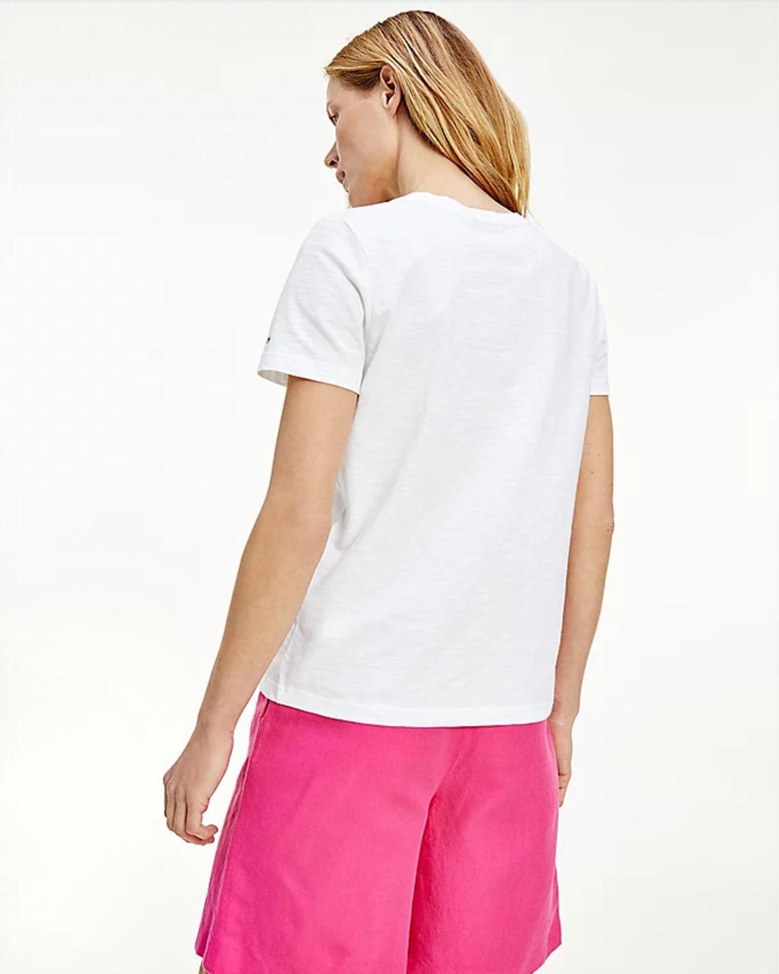 Tommy Hilfiger biały damska koszulka Tee