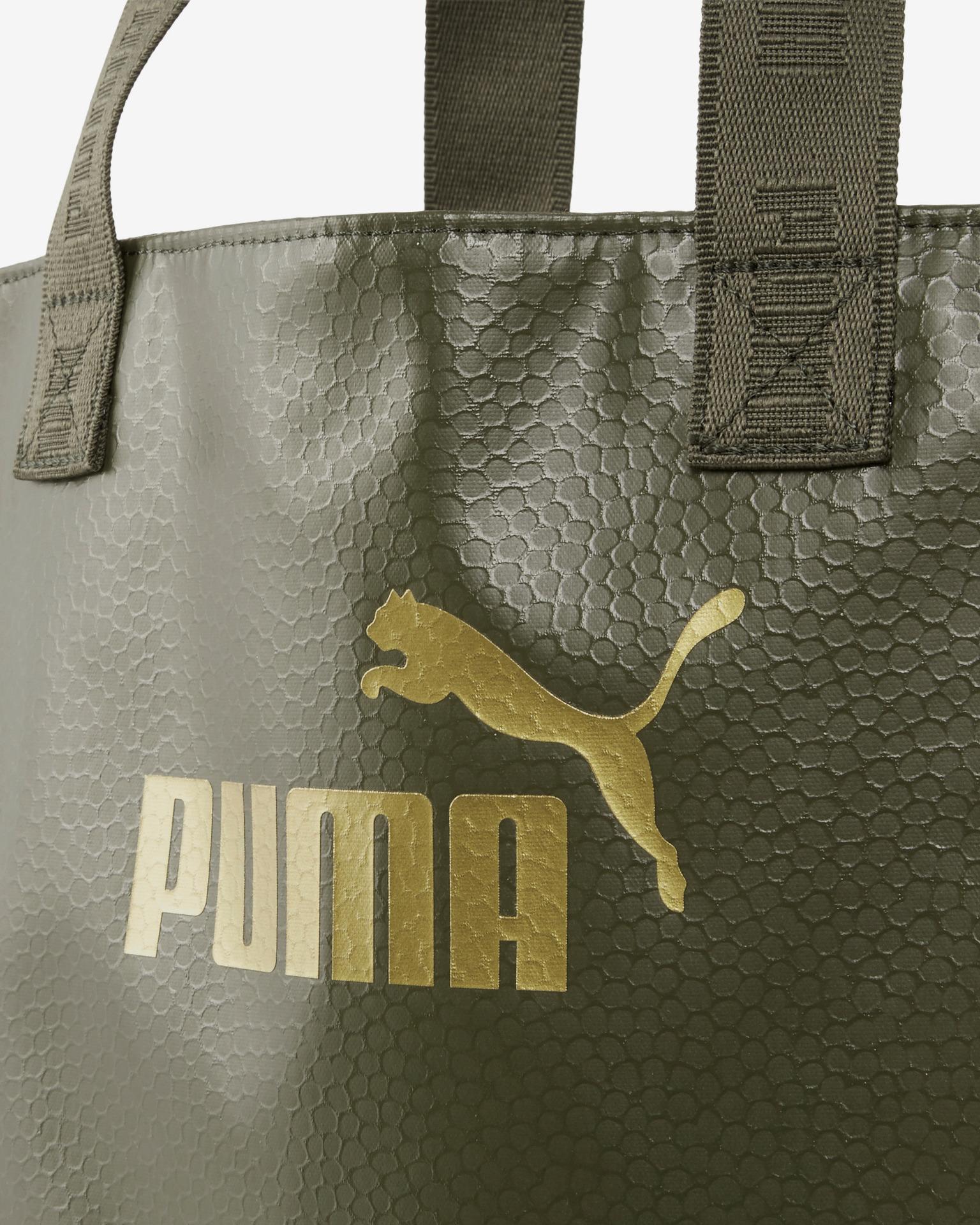 Puma Core Up Shopper Torba Zielony