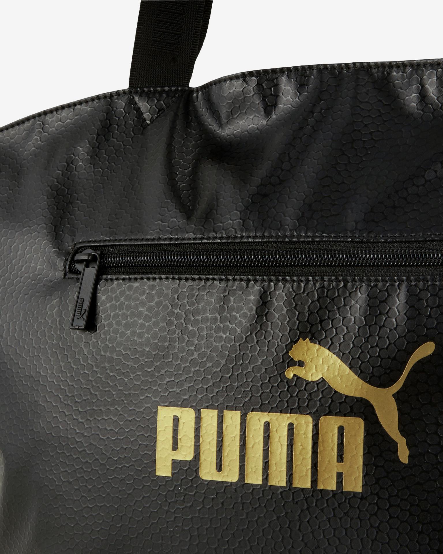 Puma Core Up Large OS Shopper Torba Czarny