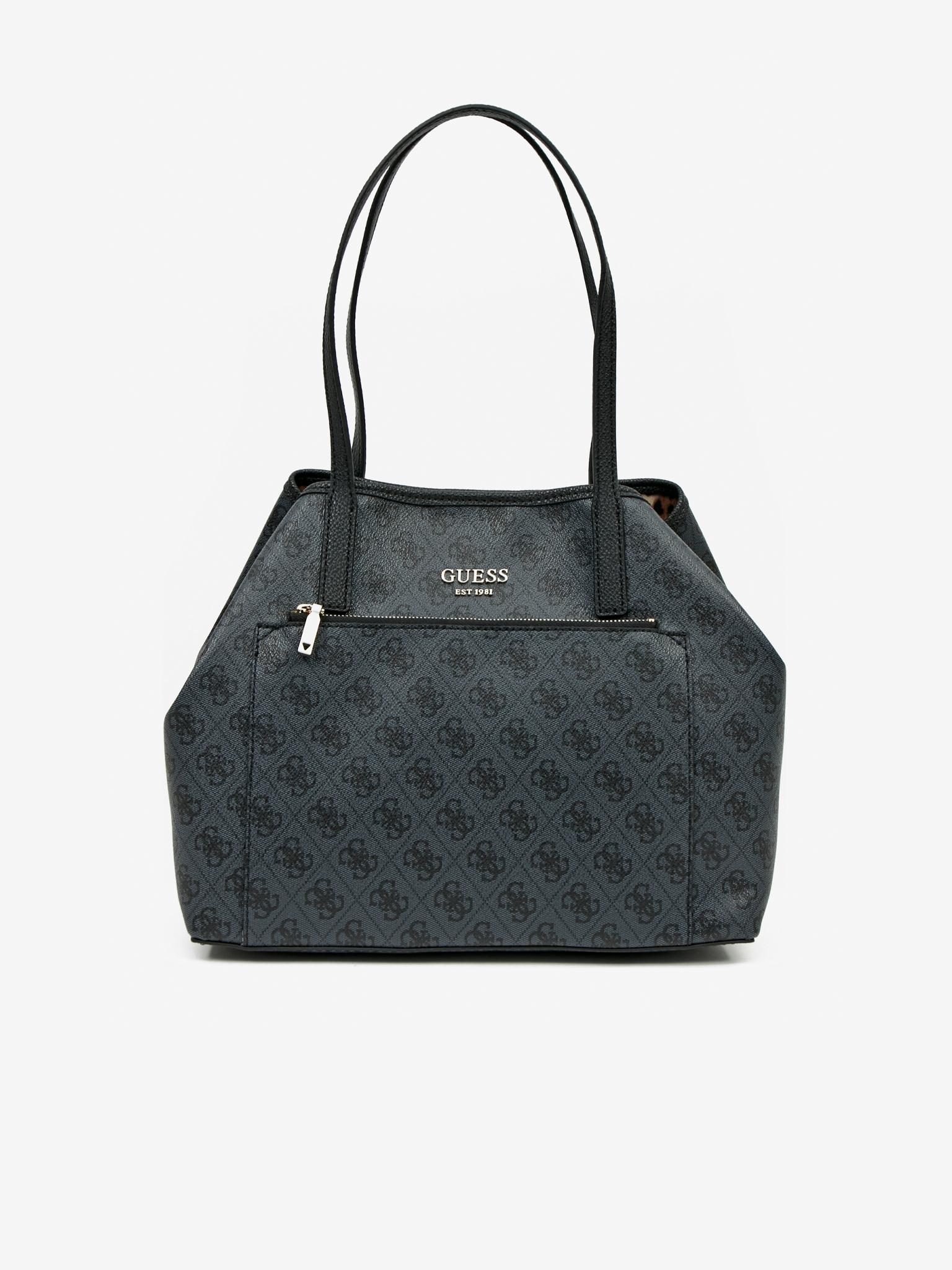 Guess czarny torebka Vikky Roo