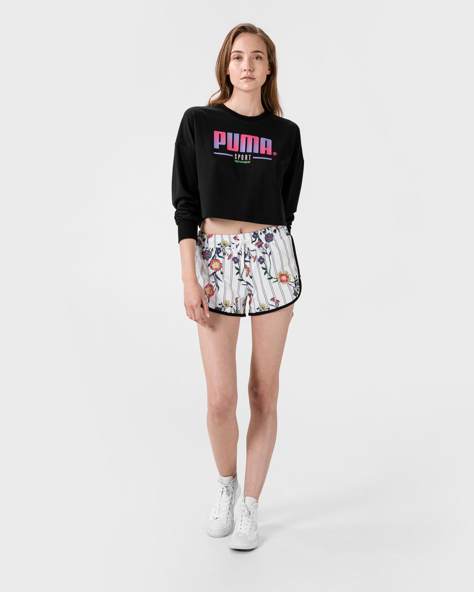 Puma Crop Top Czarny