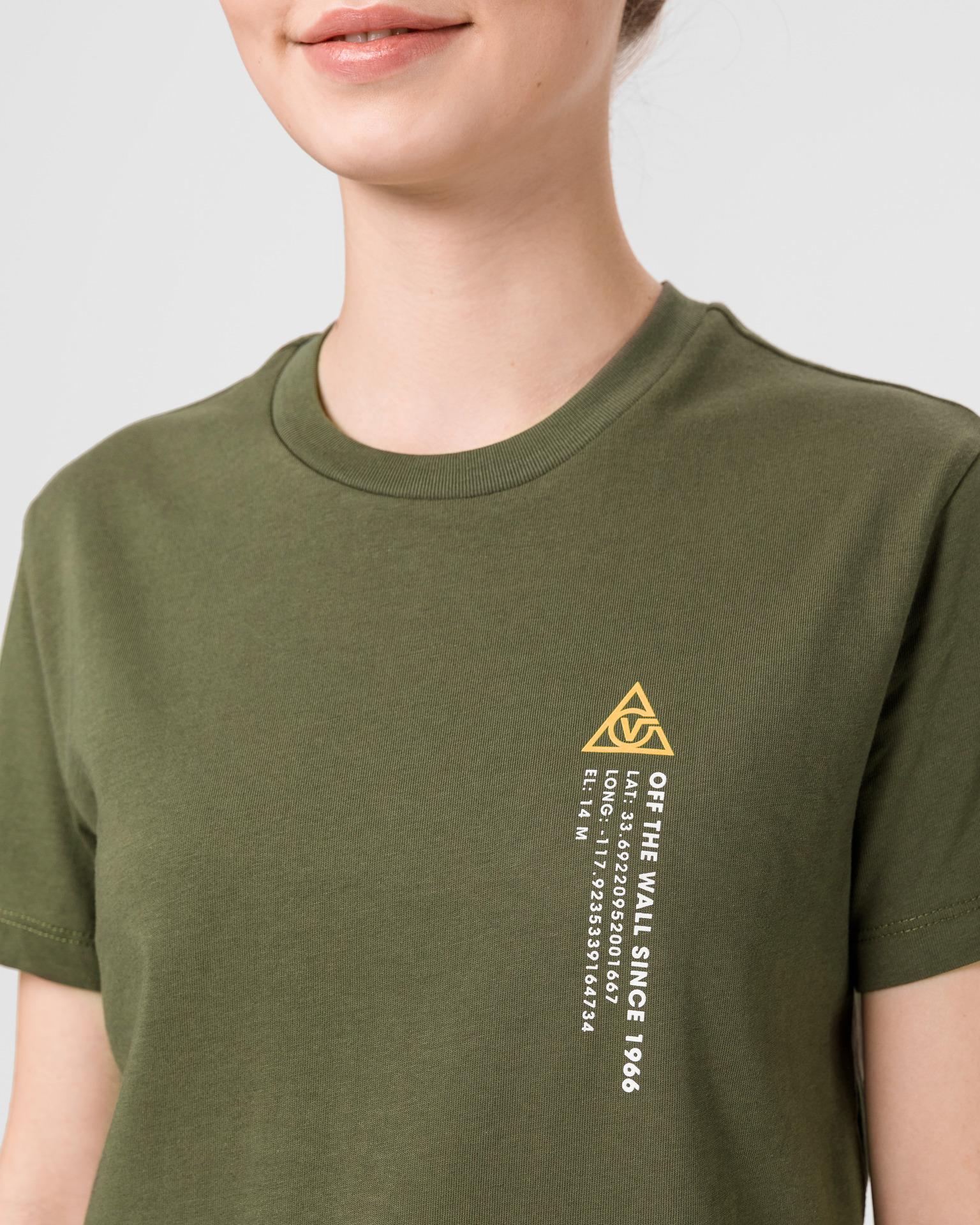 Vans zielony koszulka 66 Supply Tri