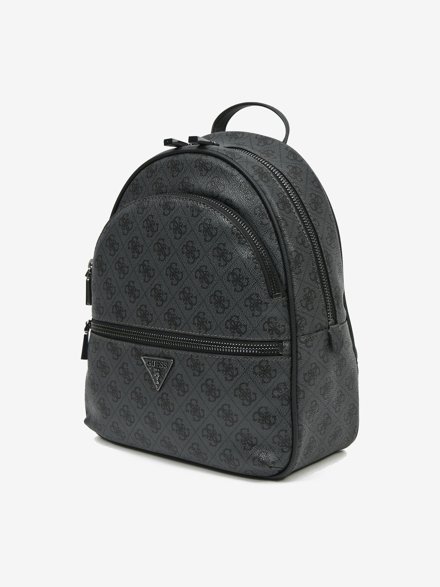 Guess czarny plecak Manhattan Large