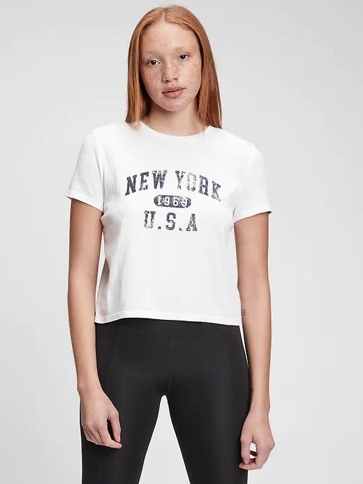 GAP Koszulki, topy damskie biały